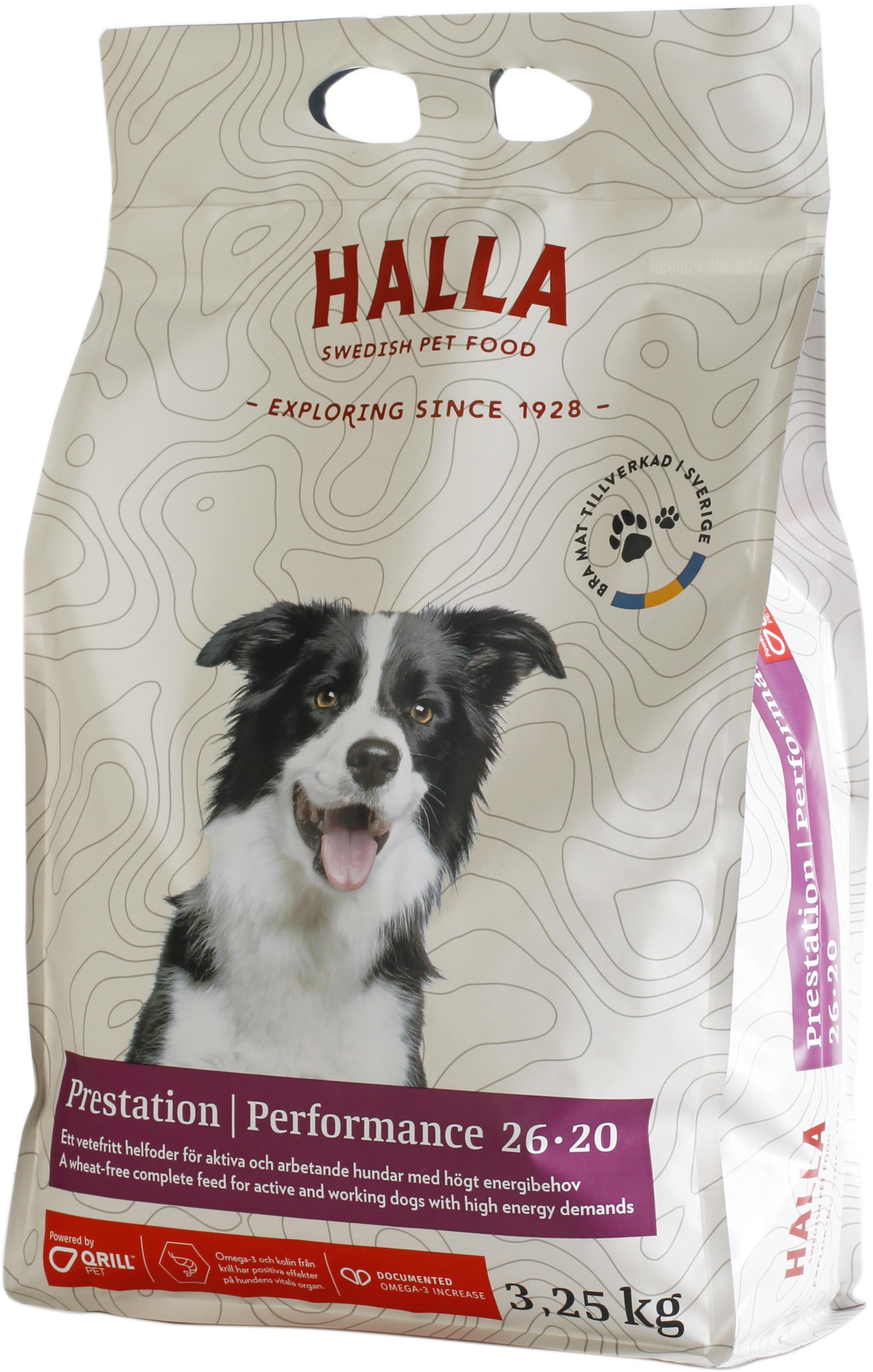 Hundfoder Performance - 3,25 kg