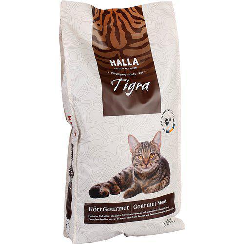 Kattfoder Tigra Kött Gourmet - 10 kg