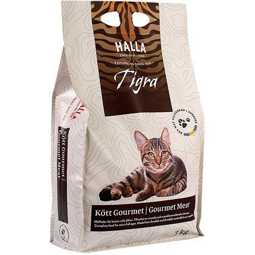 Kattfoder Tigra Kött Gourmet - 3 kg