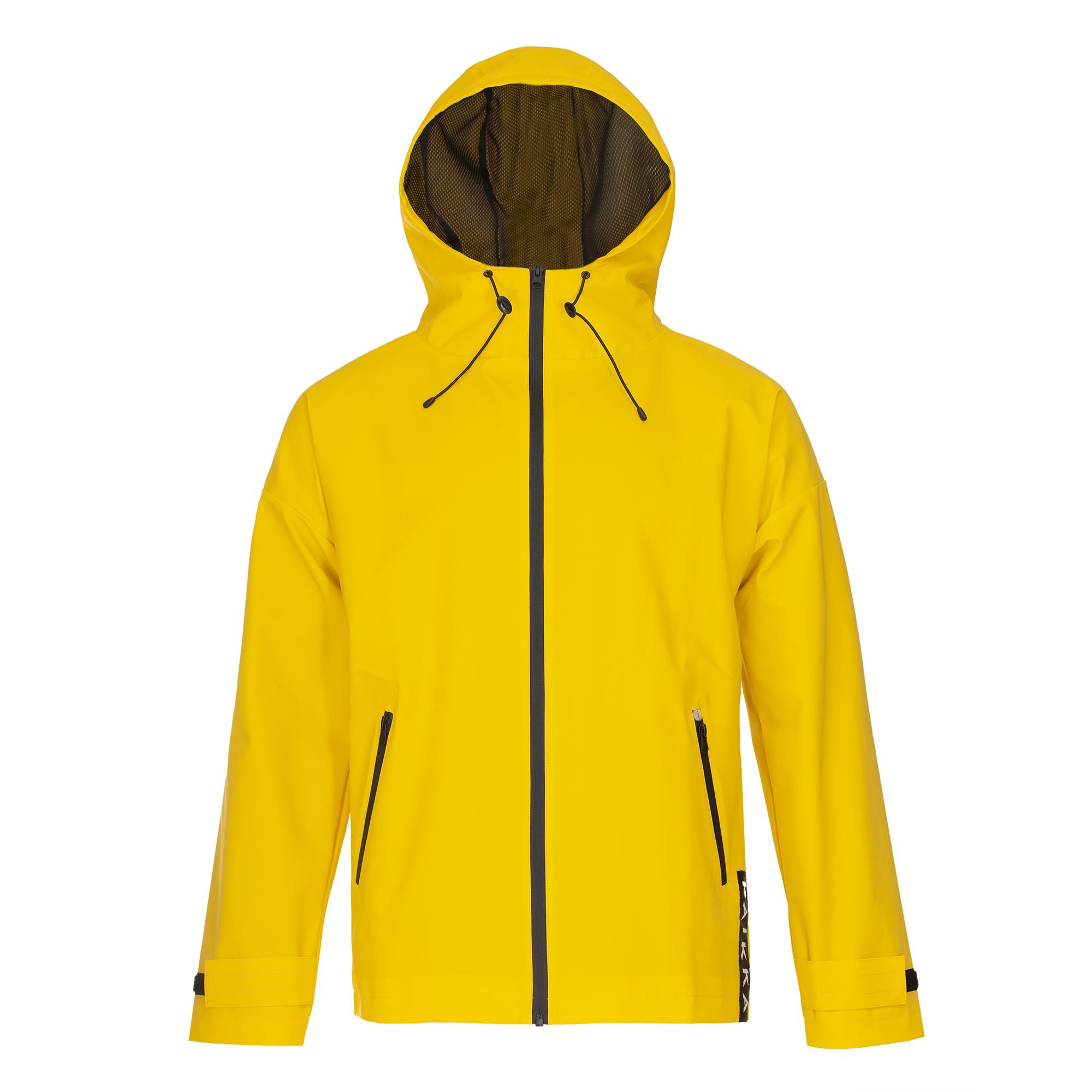 Reflekterande Regnjacka till Husse - XS gul, S-M gul, L-XL gul