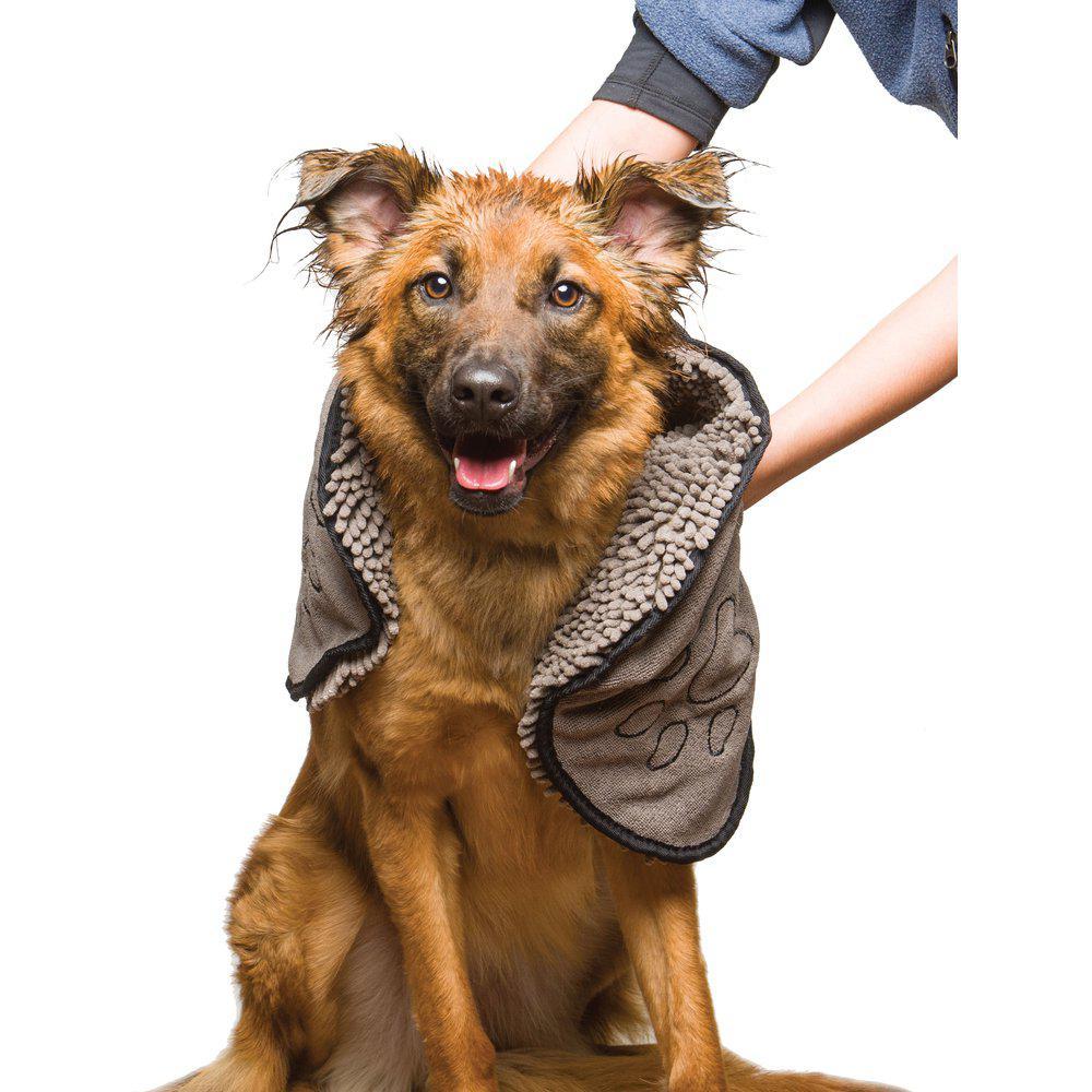 Dirty Dog & Cat Shammy Handduk