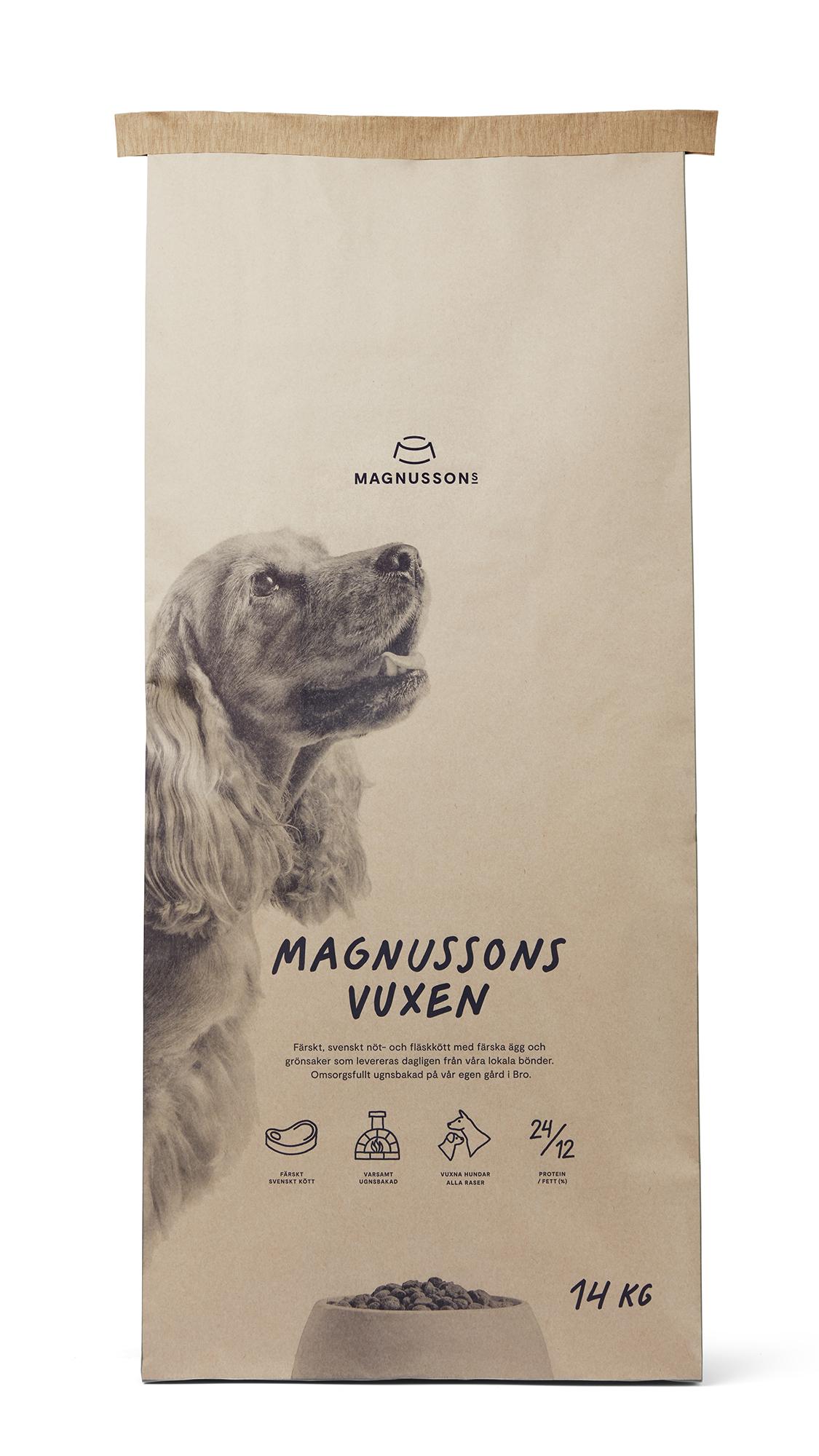 Vuxen, Hundfoder - 14 kg
