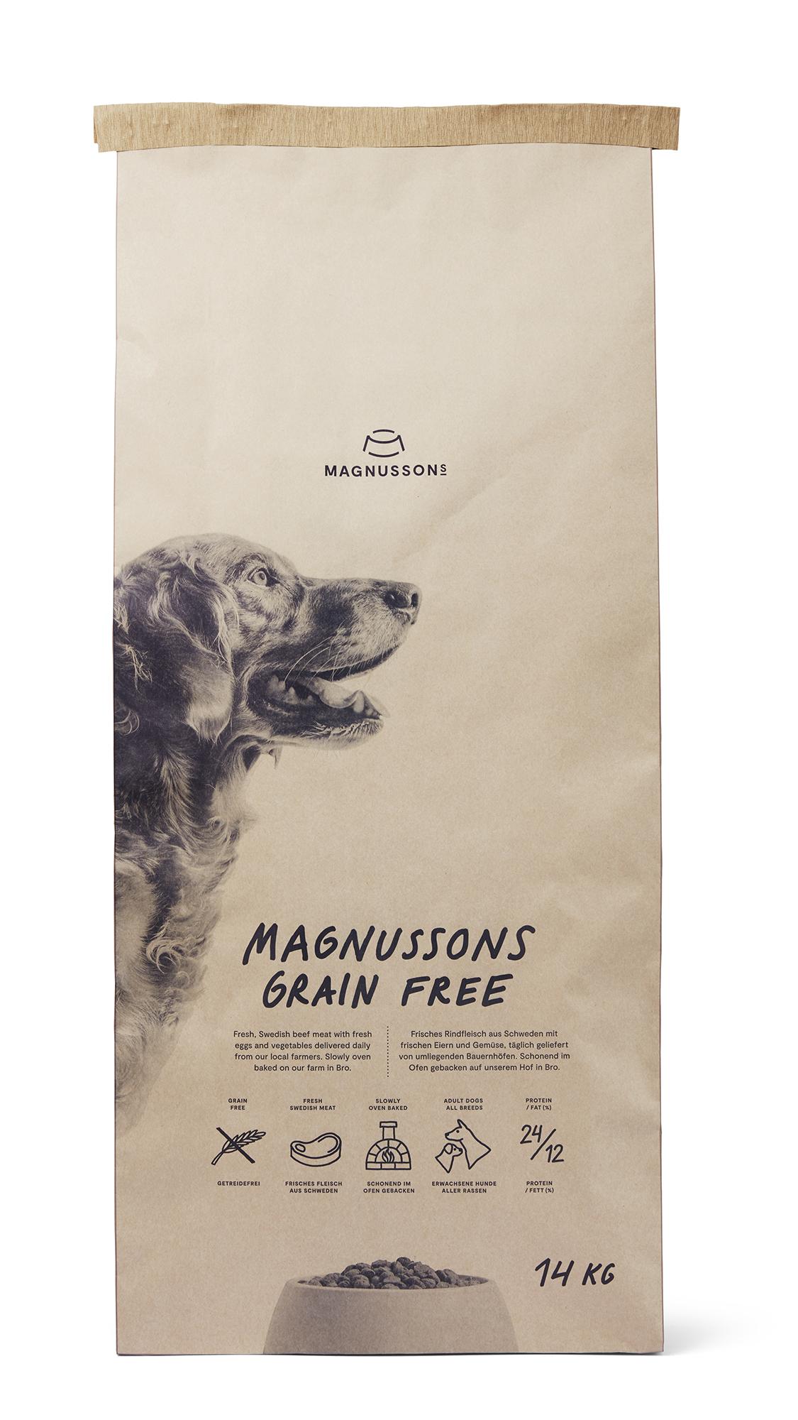 Spannmålsfri Hundfoder - 14 kg