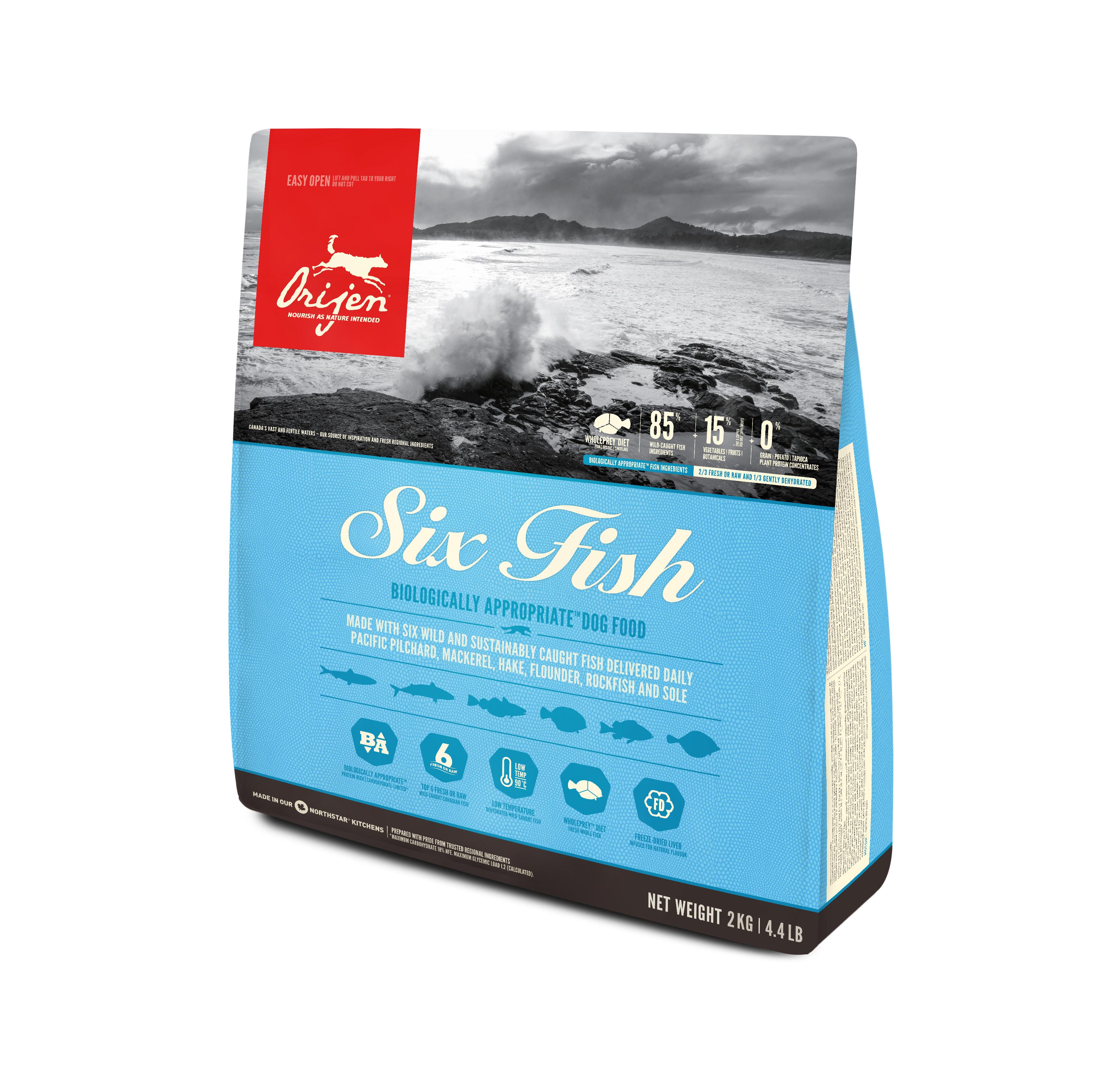 Dog Six Fish - 2 kg