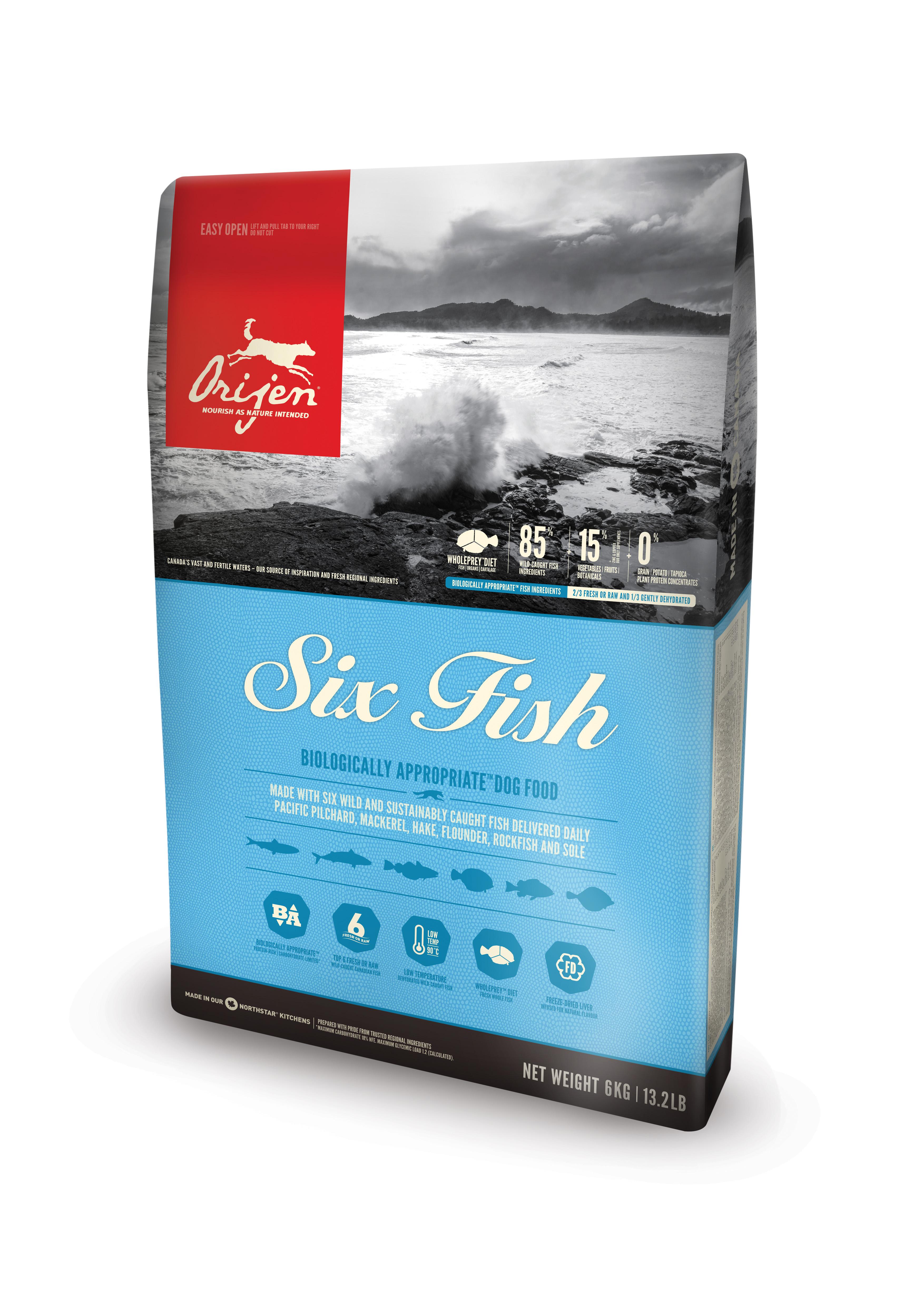 Dog Six Fish - 6 kg