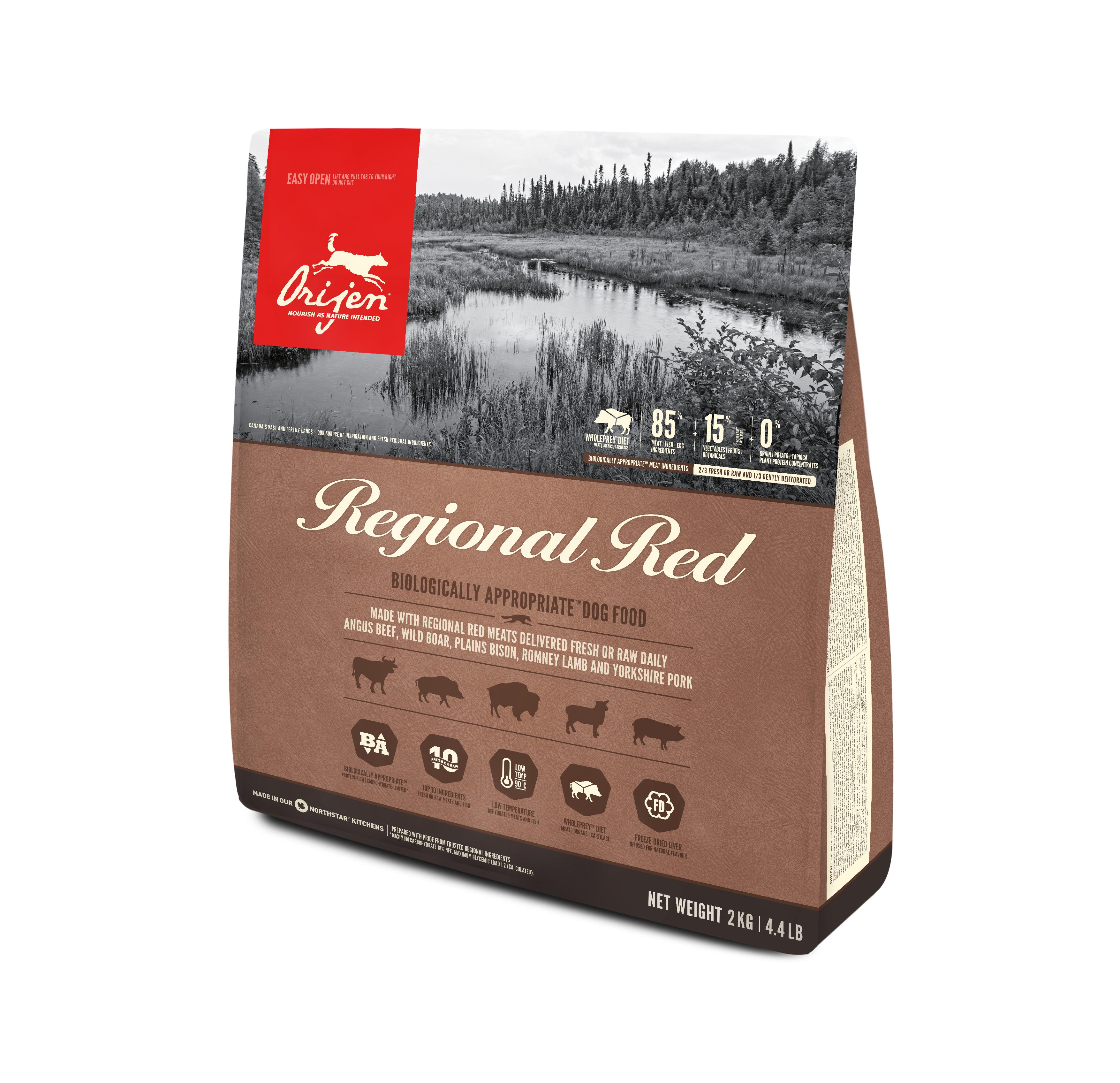 Dog Regional Red - 2 kg