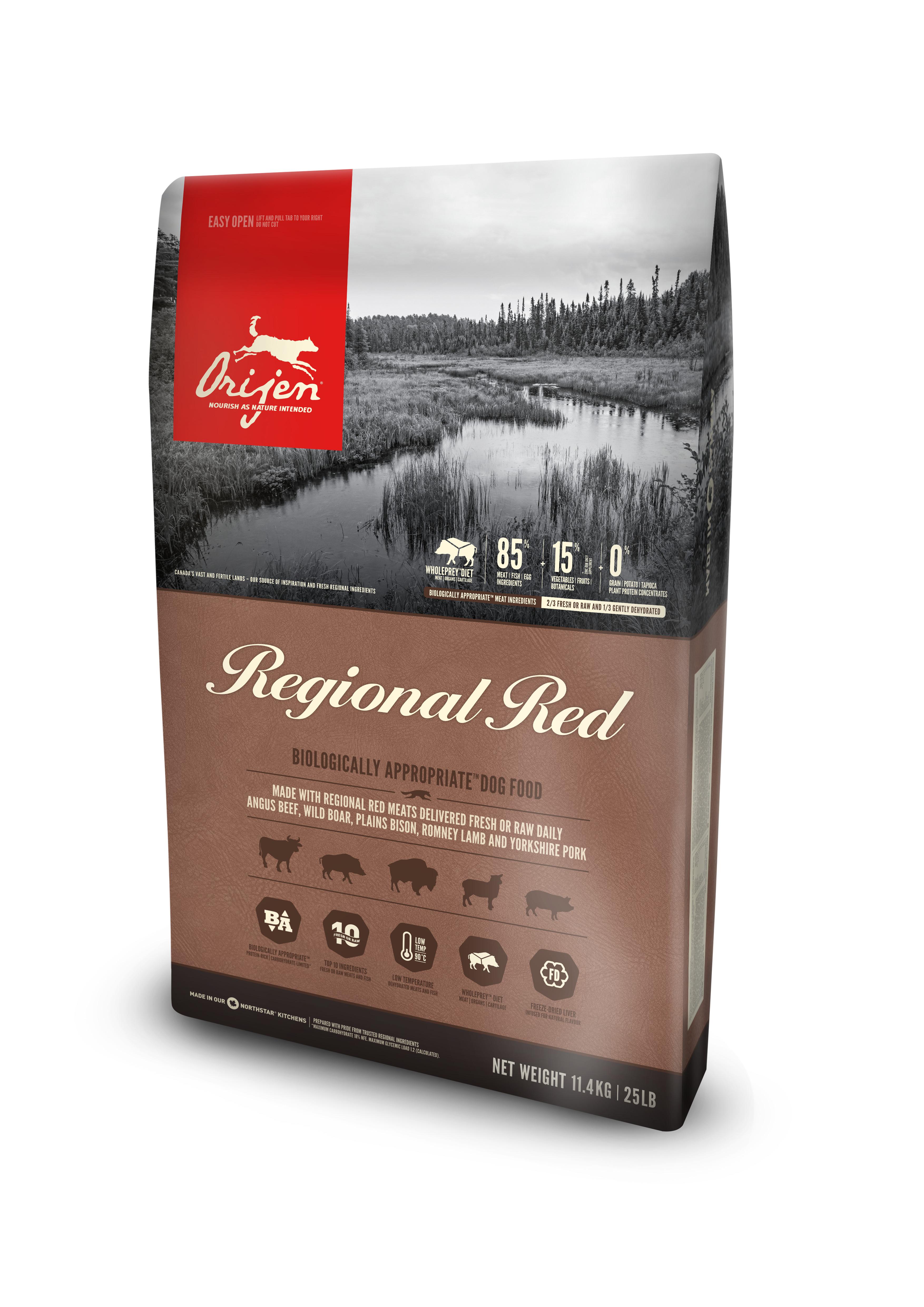 Dog Regional Red - 11,4 kg