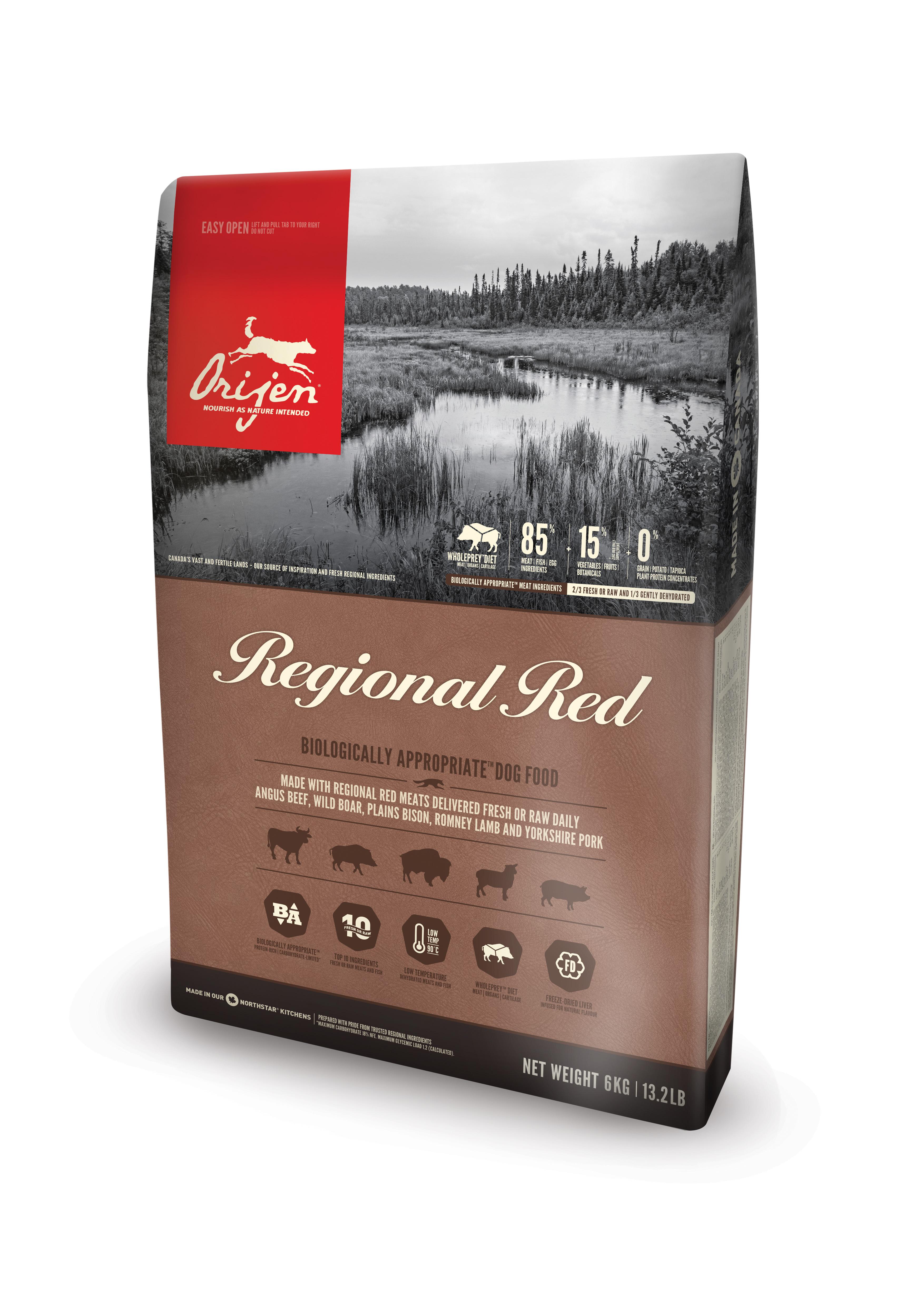 Dog Regional Red - 6 kg