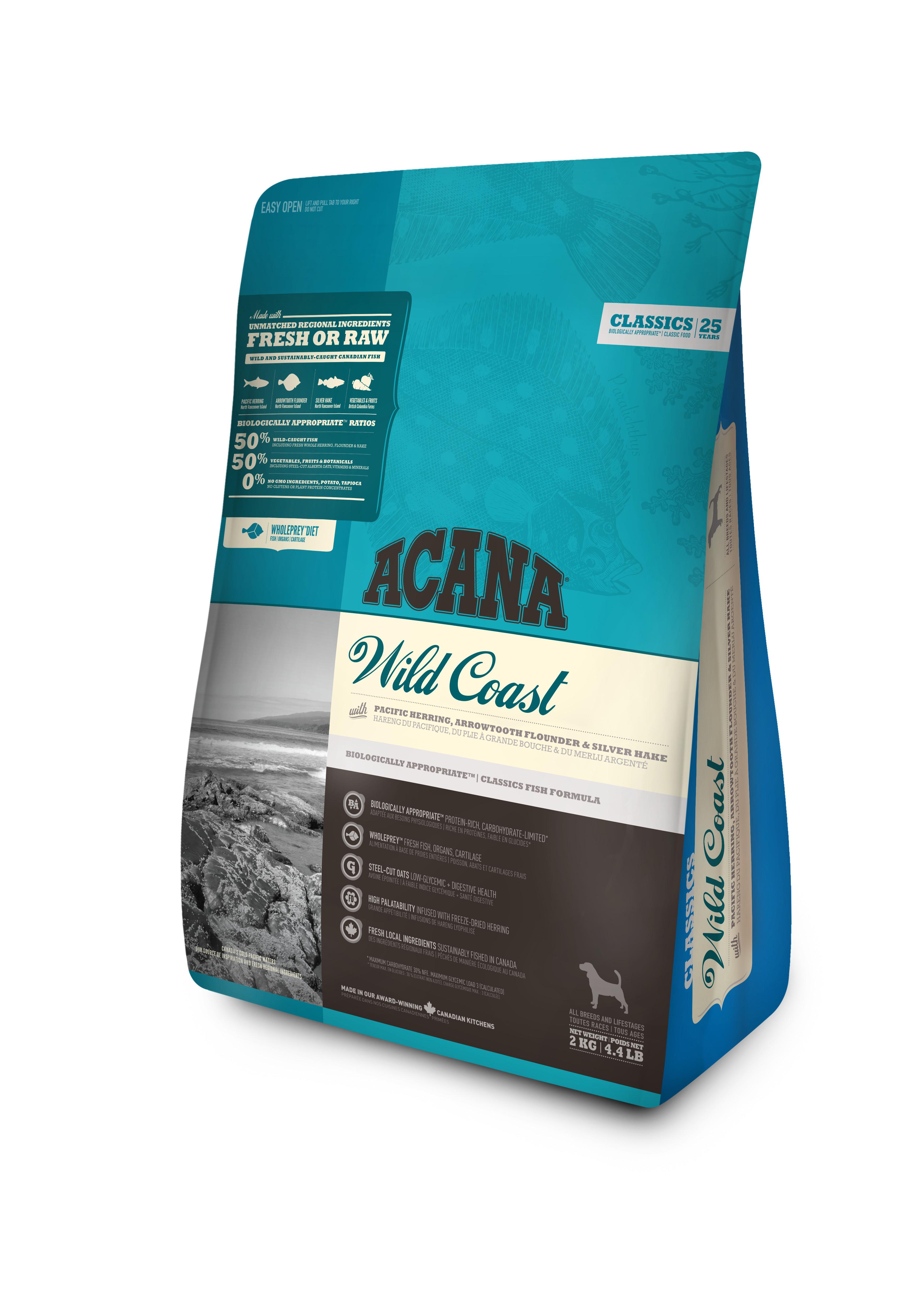 Dog Wild Coast - 2 kg