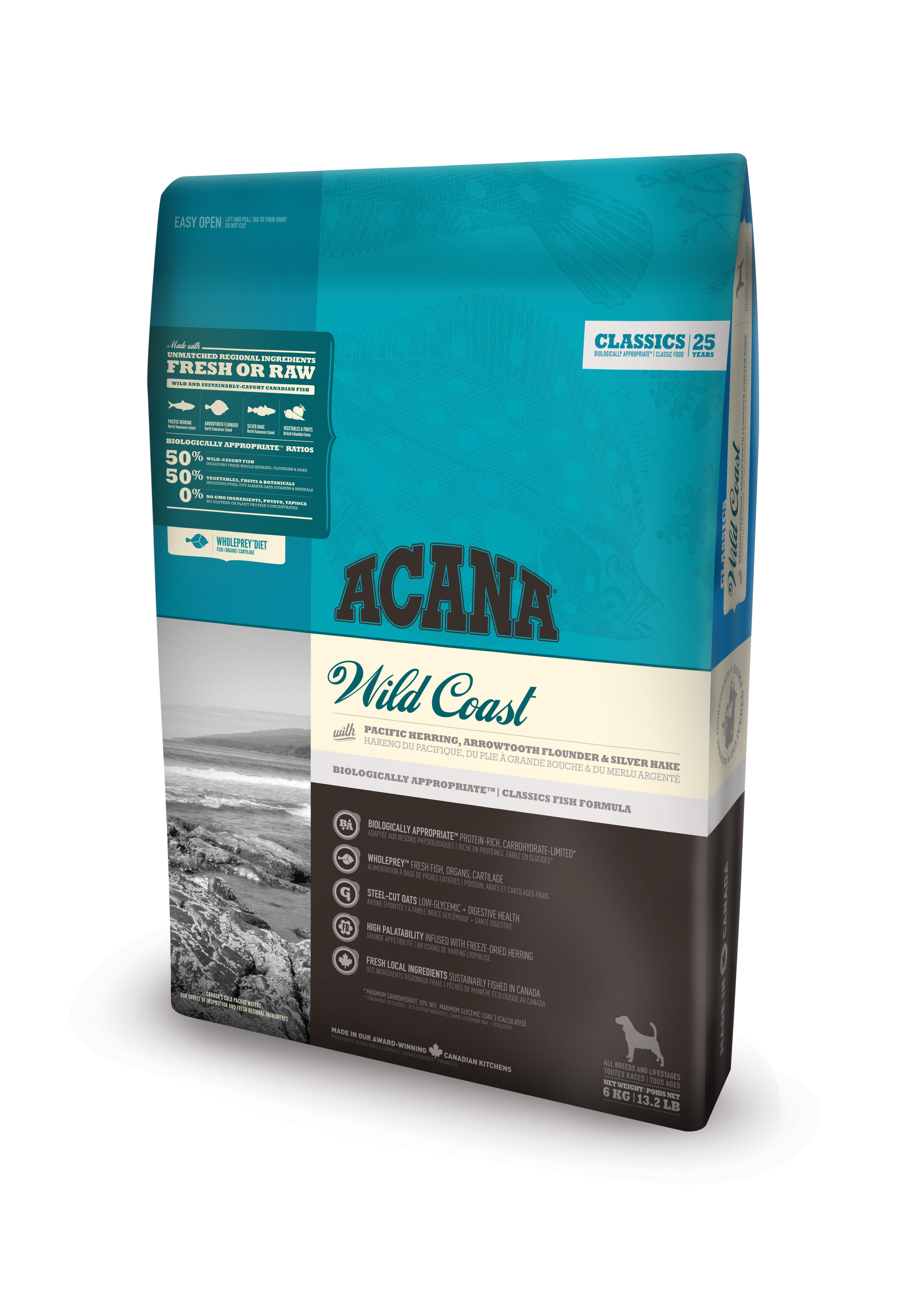 Dog Wild Coast - 6 kg