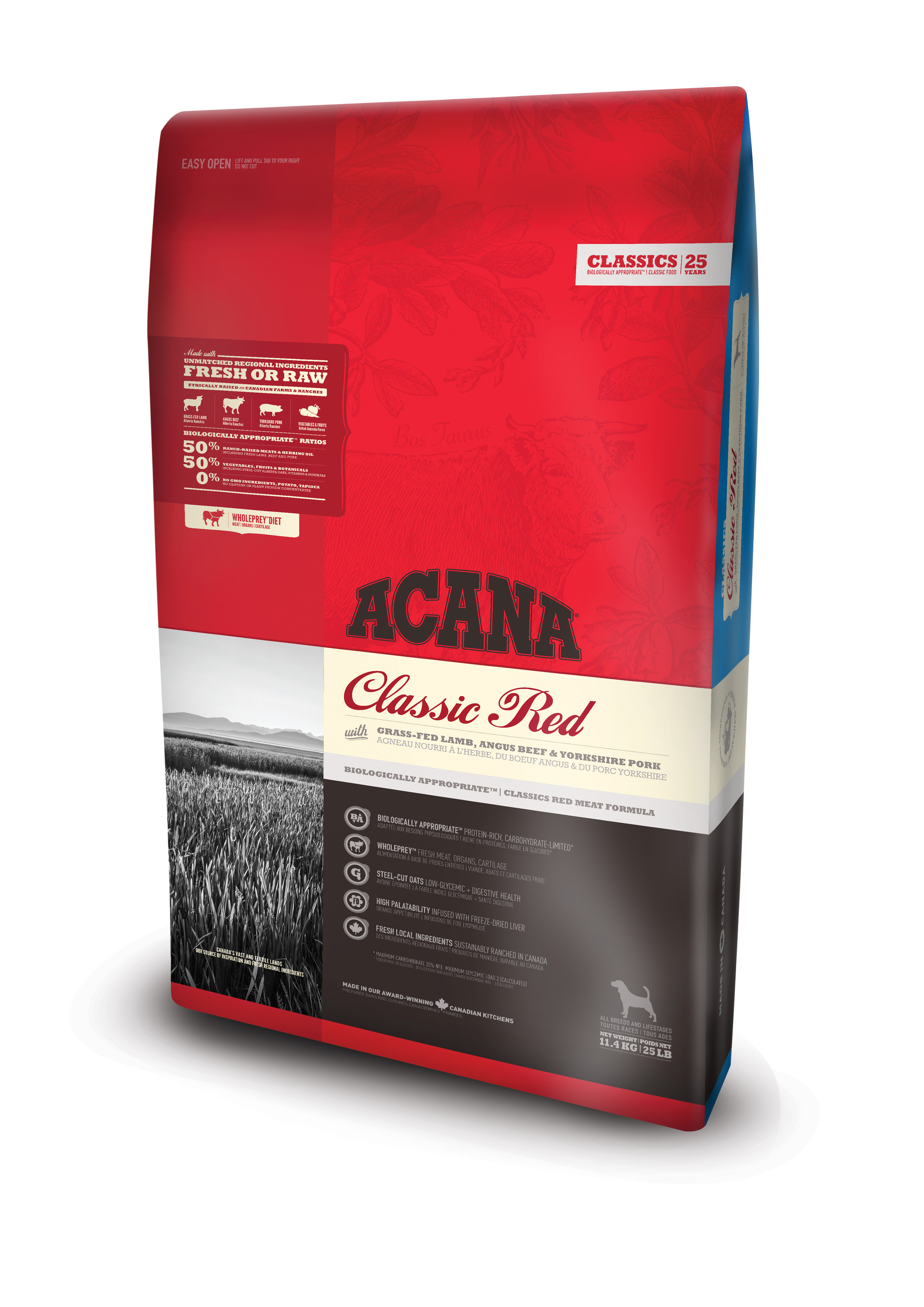Dog Classic Red - 17 kg