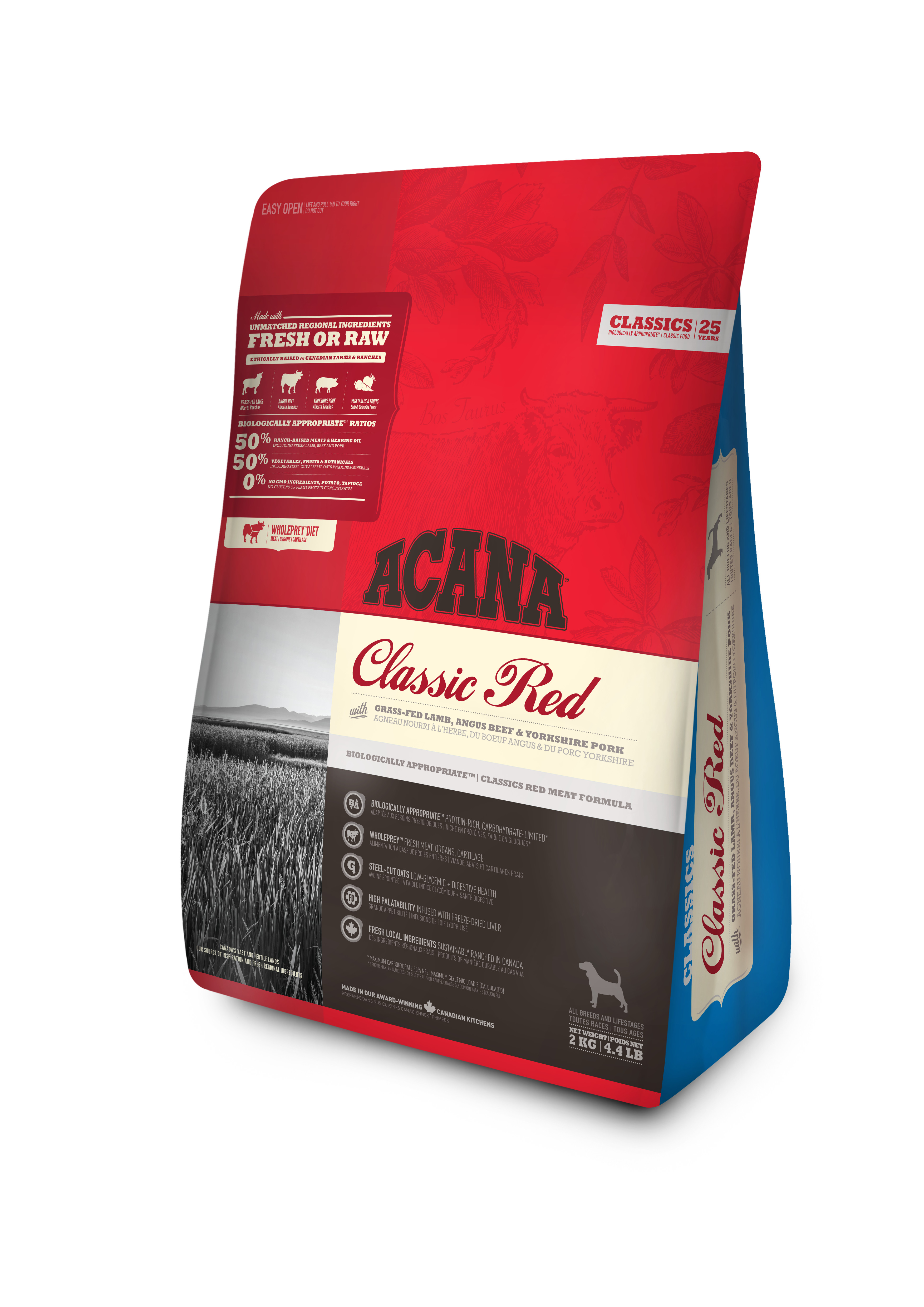Dog Classic Red - 2 kg