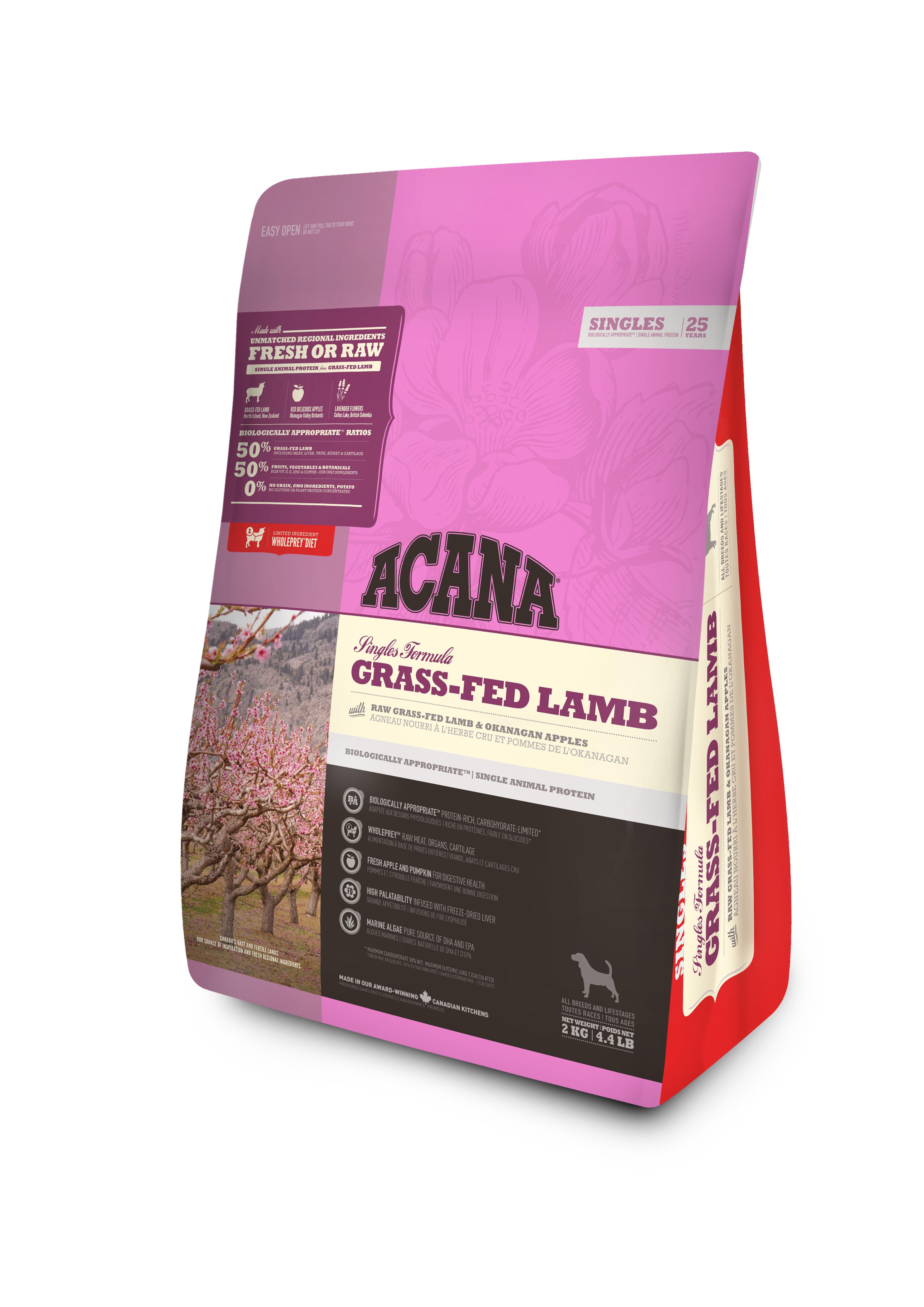 Dog Grass-Fed Lamb - 2 kg