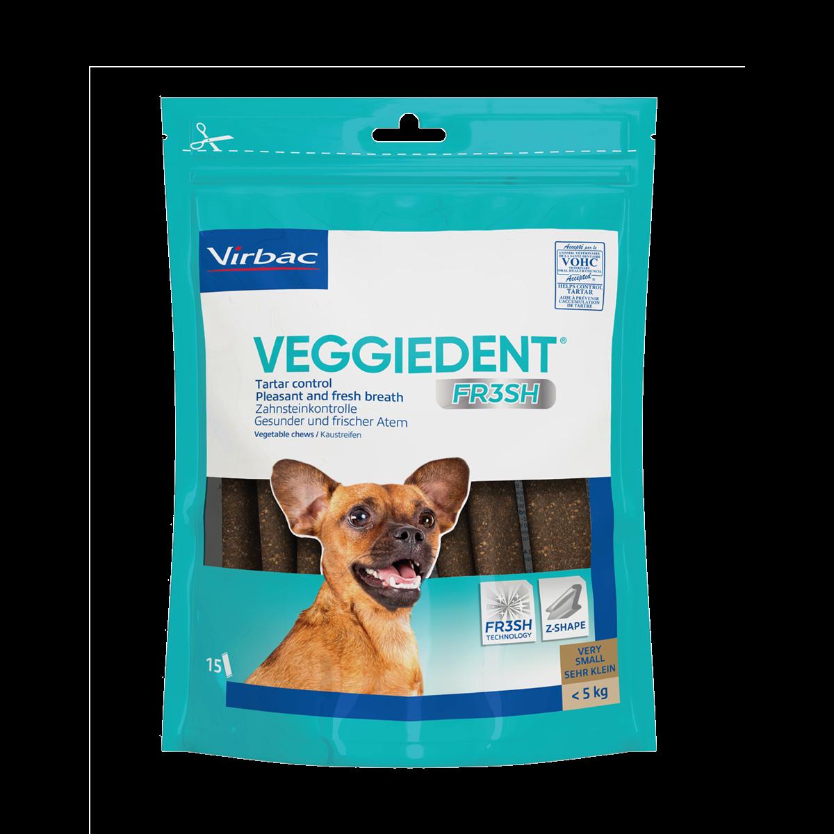 VeggieDent Fr3sh Tuggben - X-Small