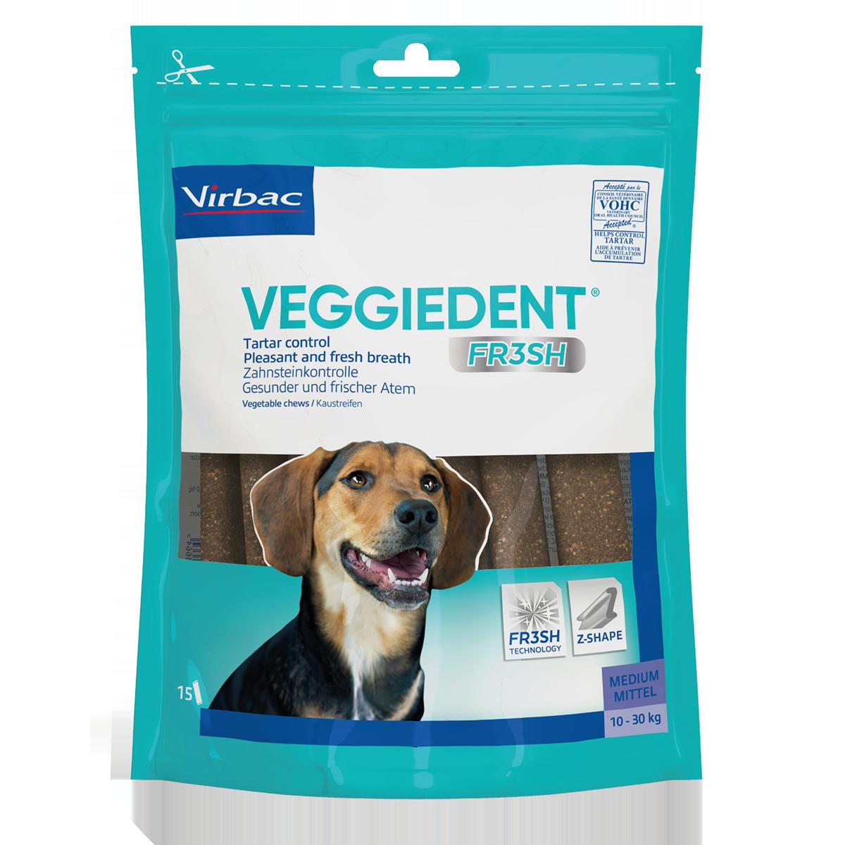 VeggieDent Fr3sh Tuggben - Medium