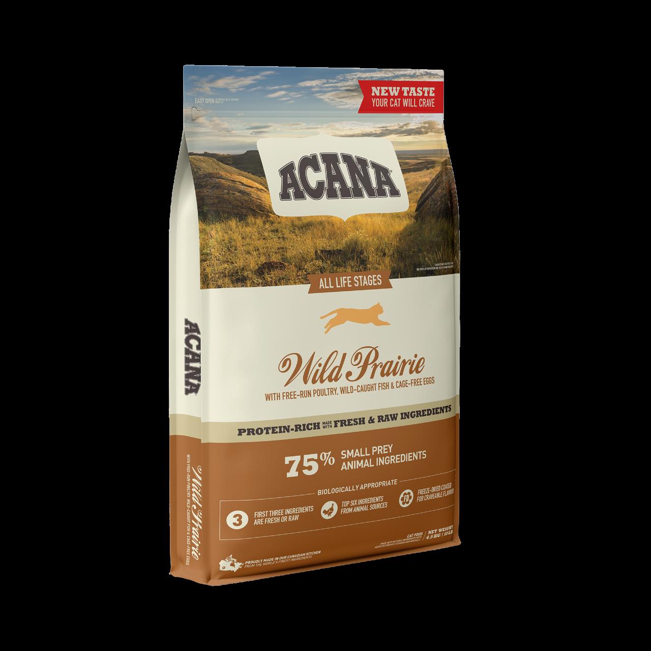 Cat Wild Prairie - 4,5 kg