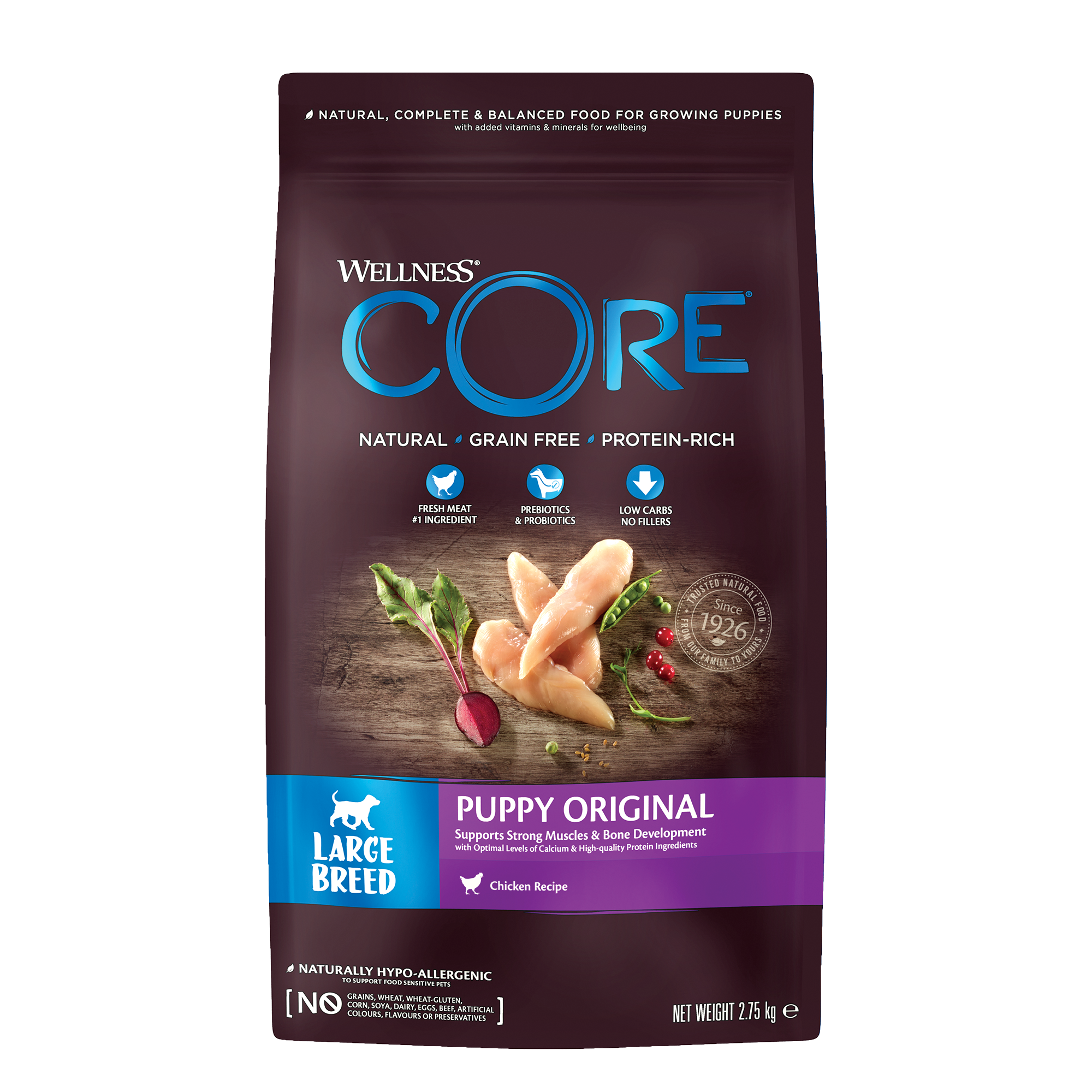 Core Dog Puppy Large Breed - 2,75 kg
