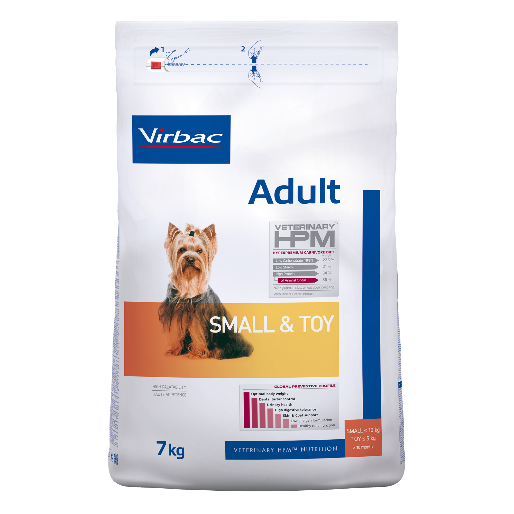 Adult Dog Small &Toy - 7 kg