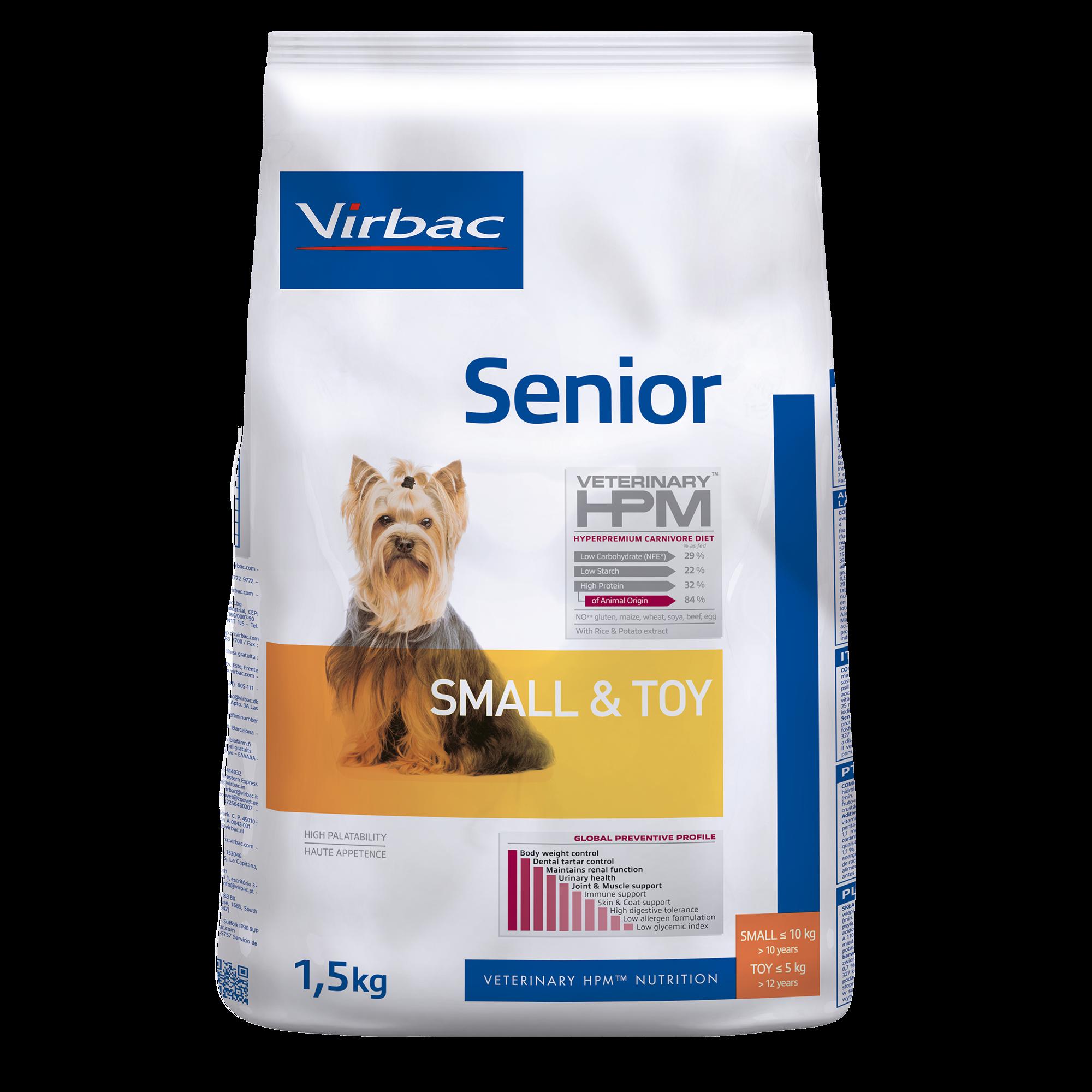 Senior Dog Small & Toy - 1,5 kg