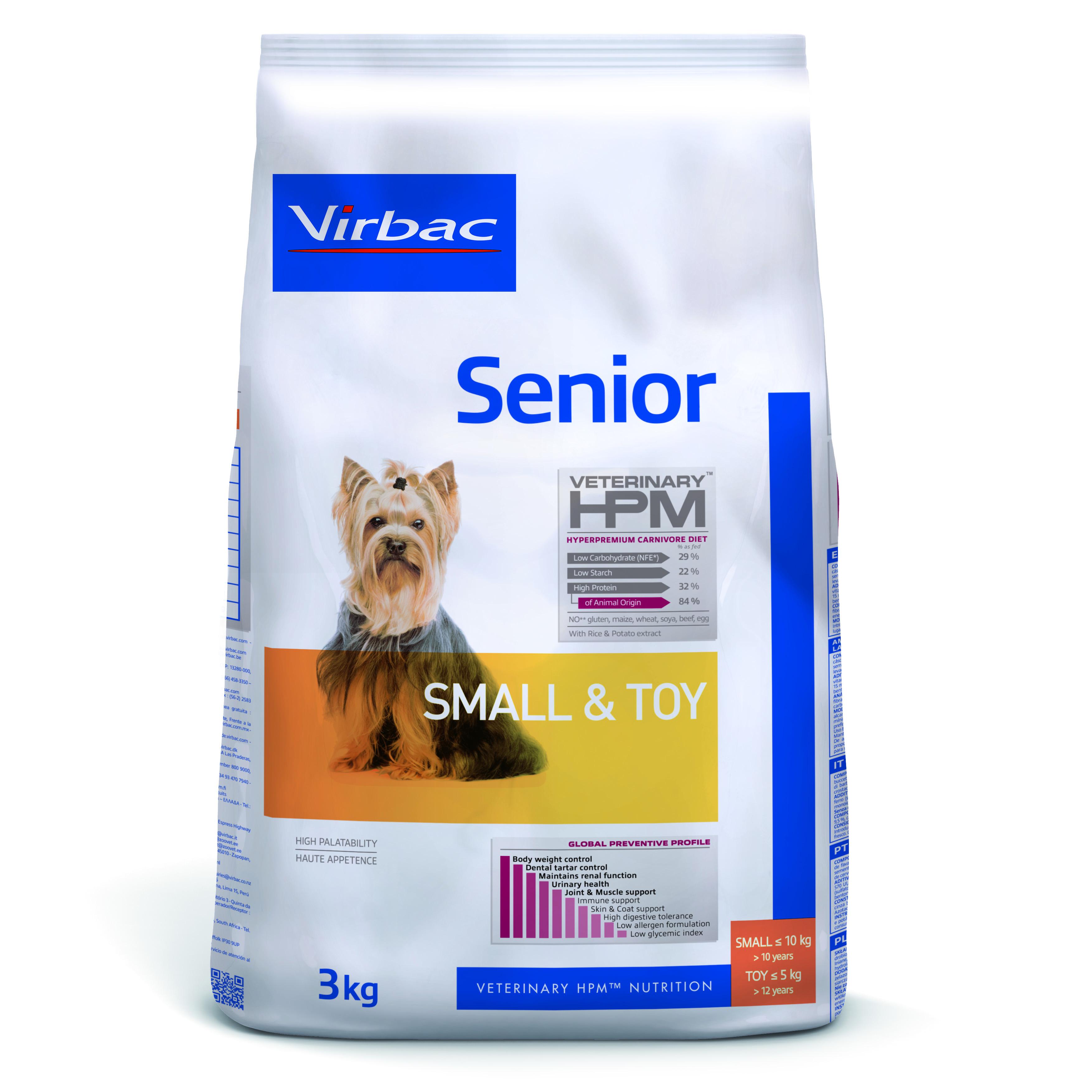 Senior Dog Small & Toy - 3 kg