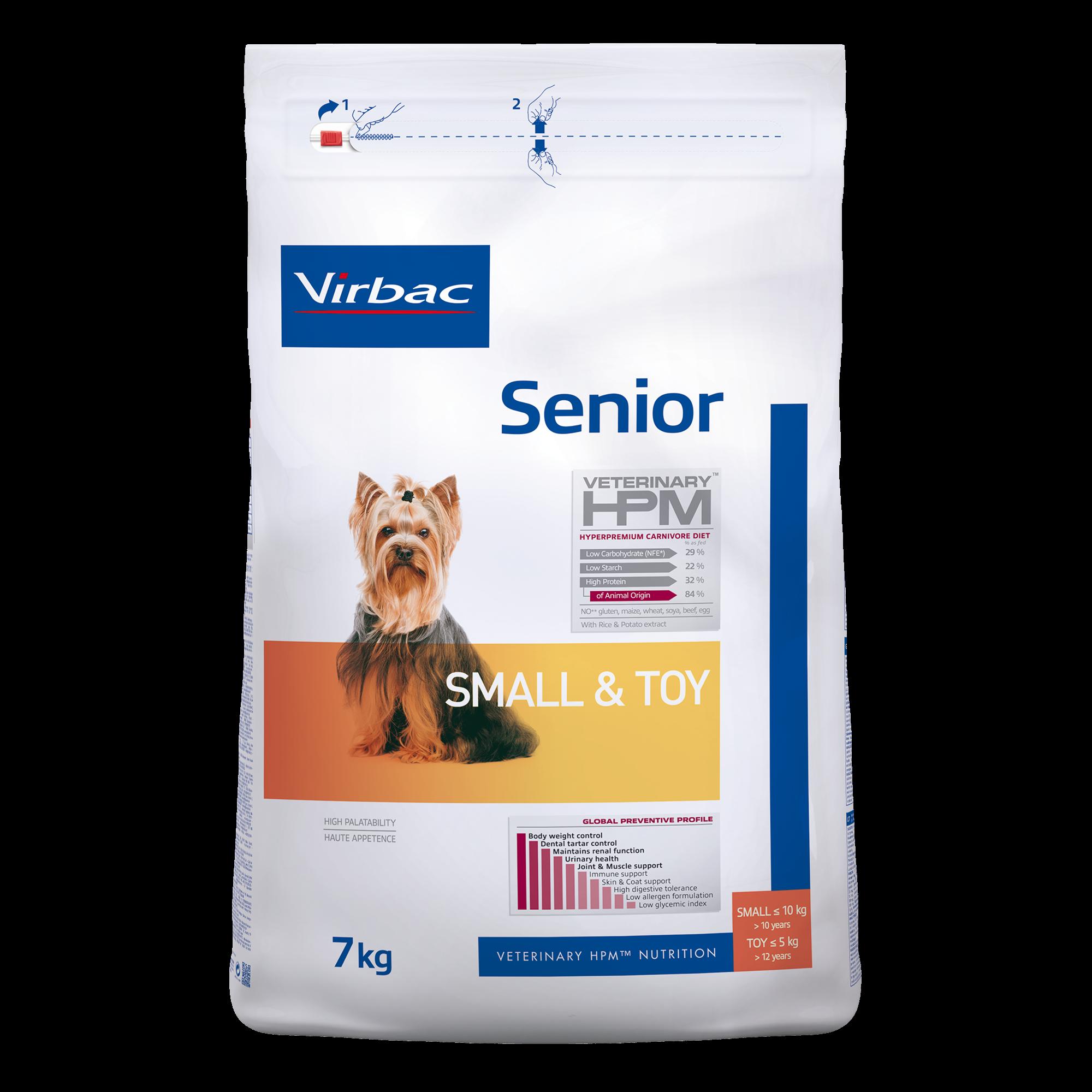 Senior Dog Small & Toy - 7 kg