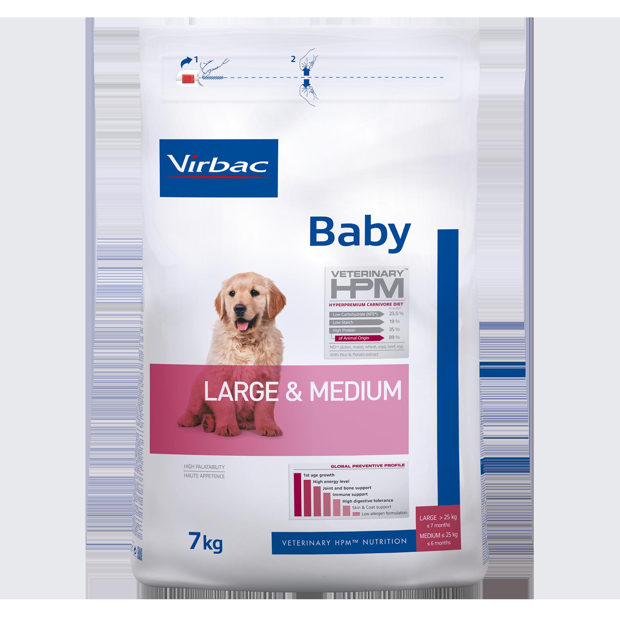 Baby Dog Large & Medium - 7 kg