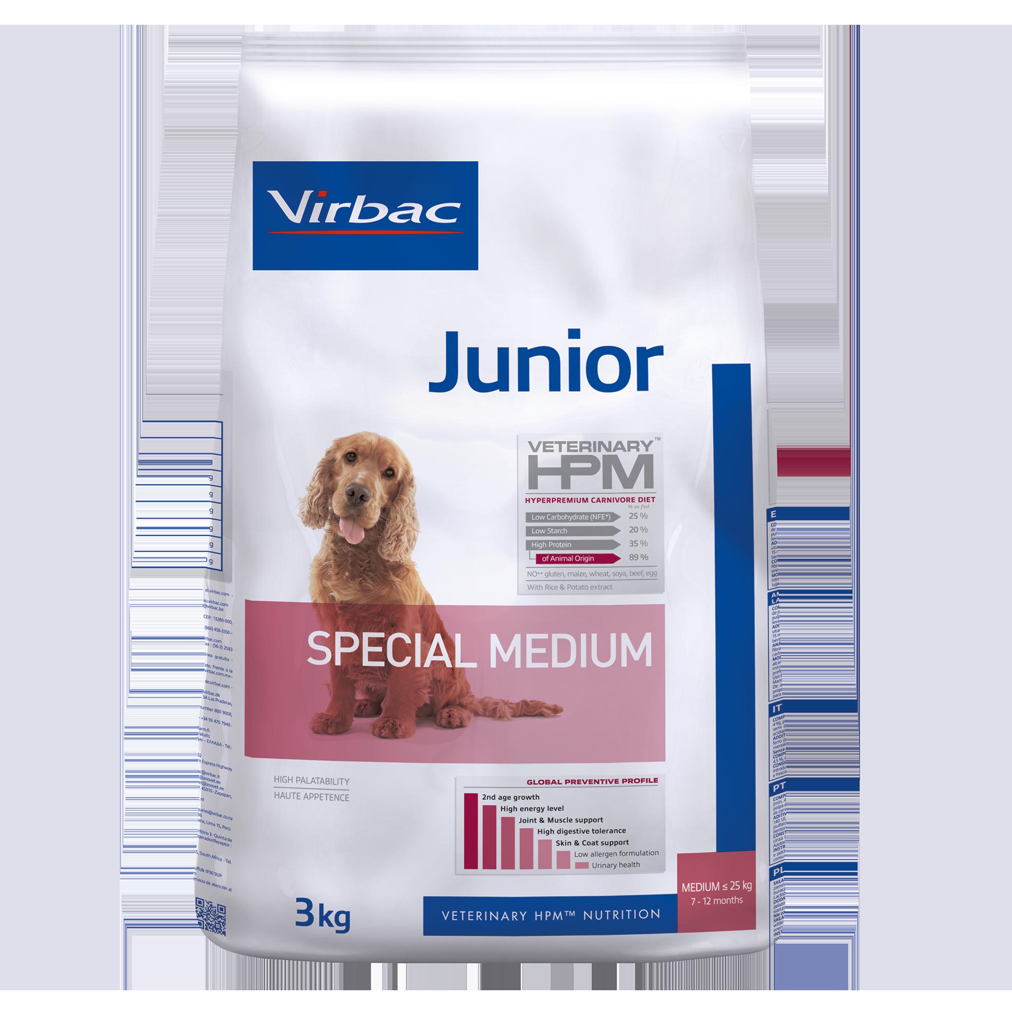 Junior Dog Special Medium - 3 kg