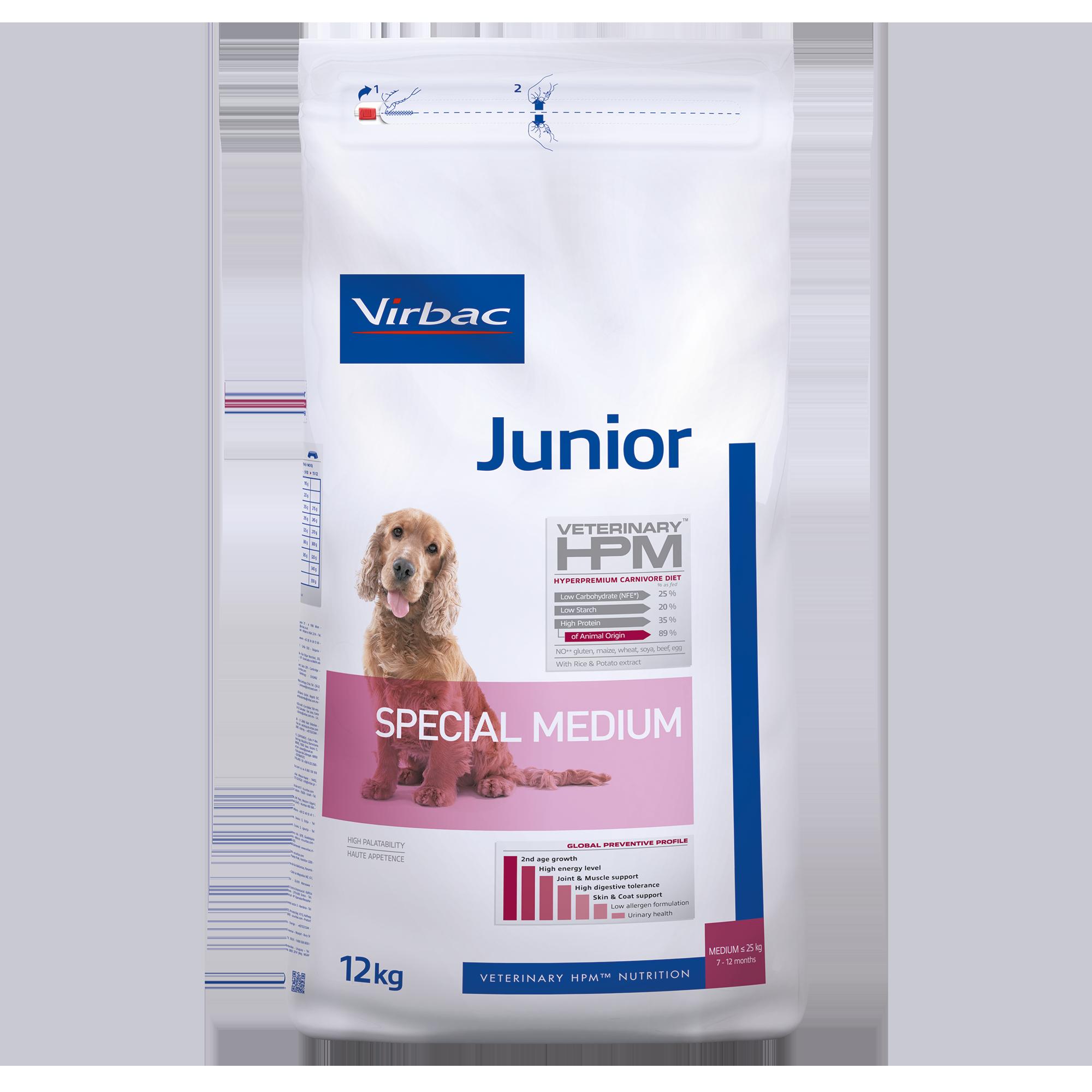 Junior Dog Special Medium - 12 kg