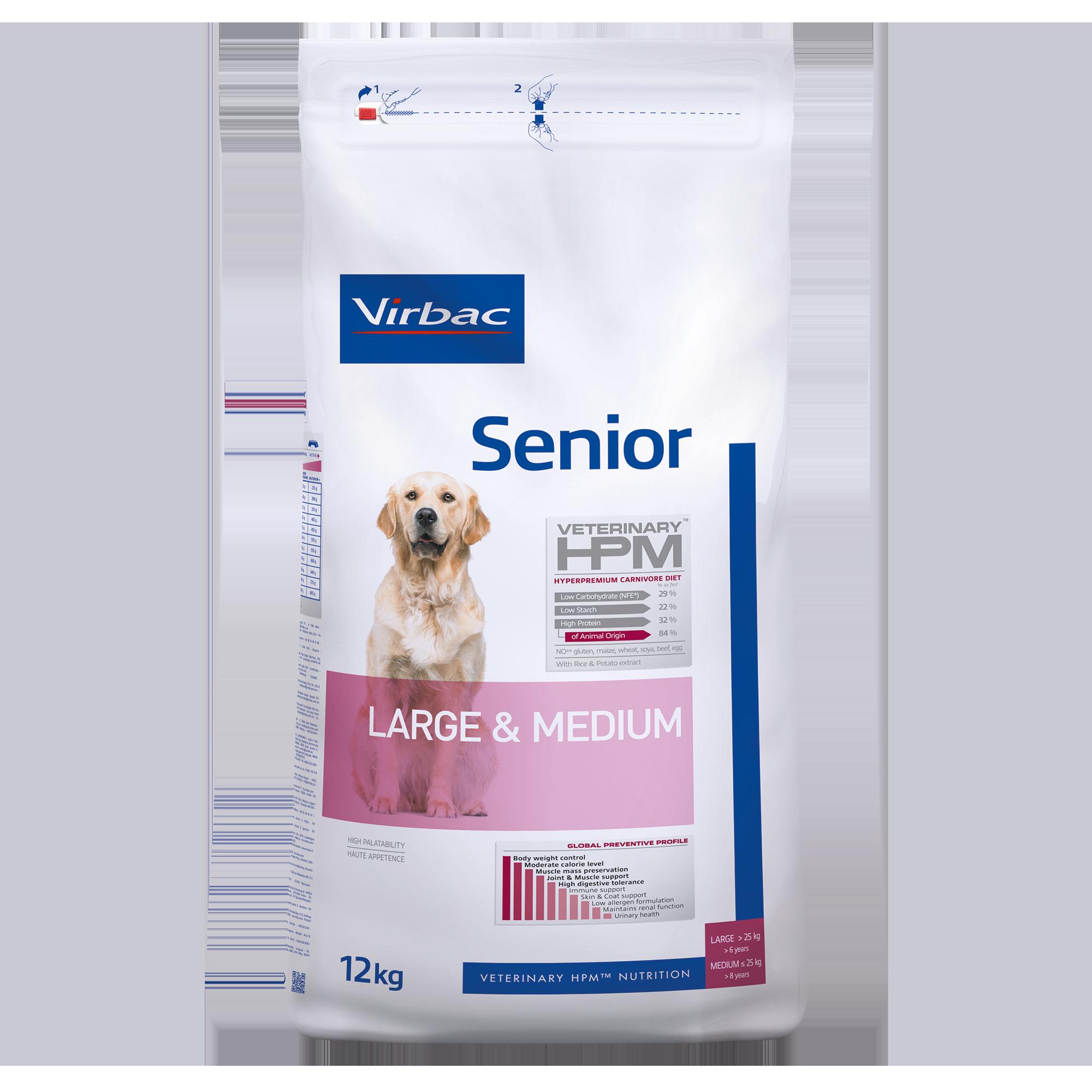 Senior Dog Large & Medium - 12 kg