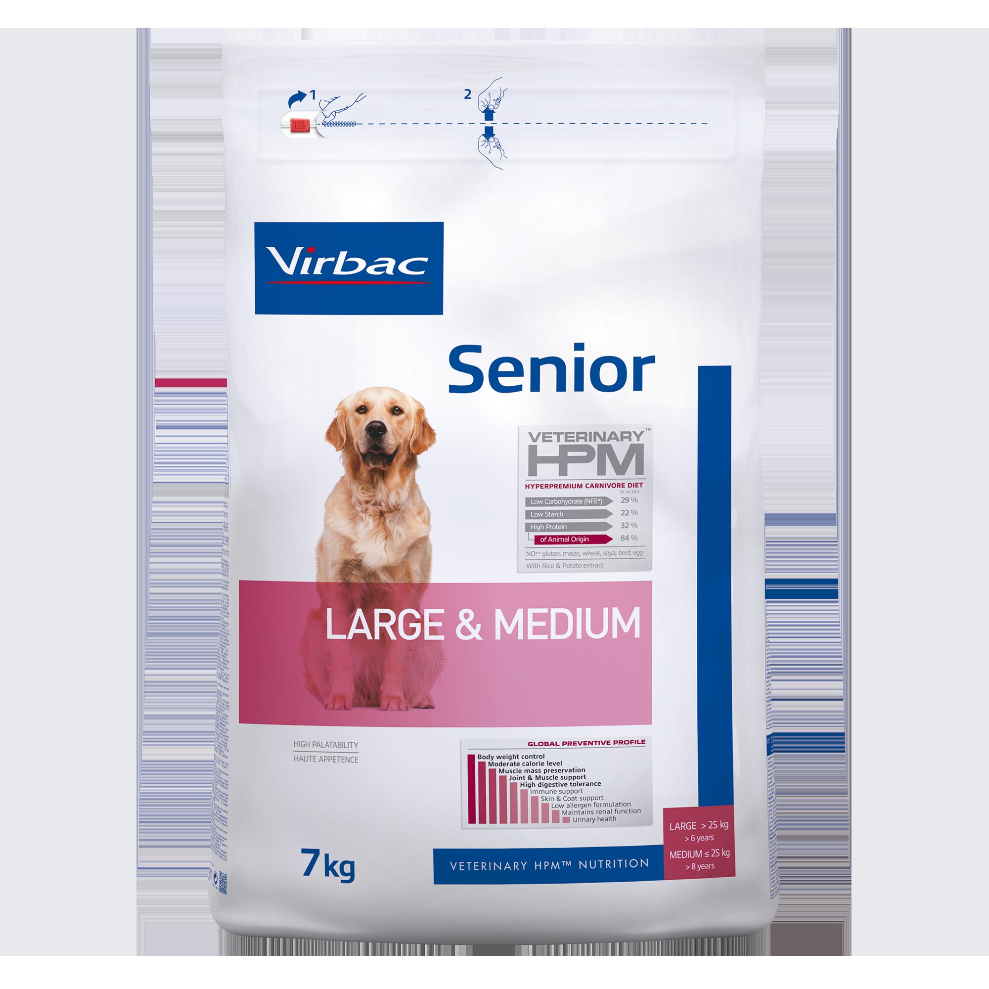 Senior Dog Large & Medium - 7 kg