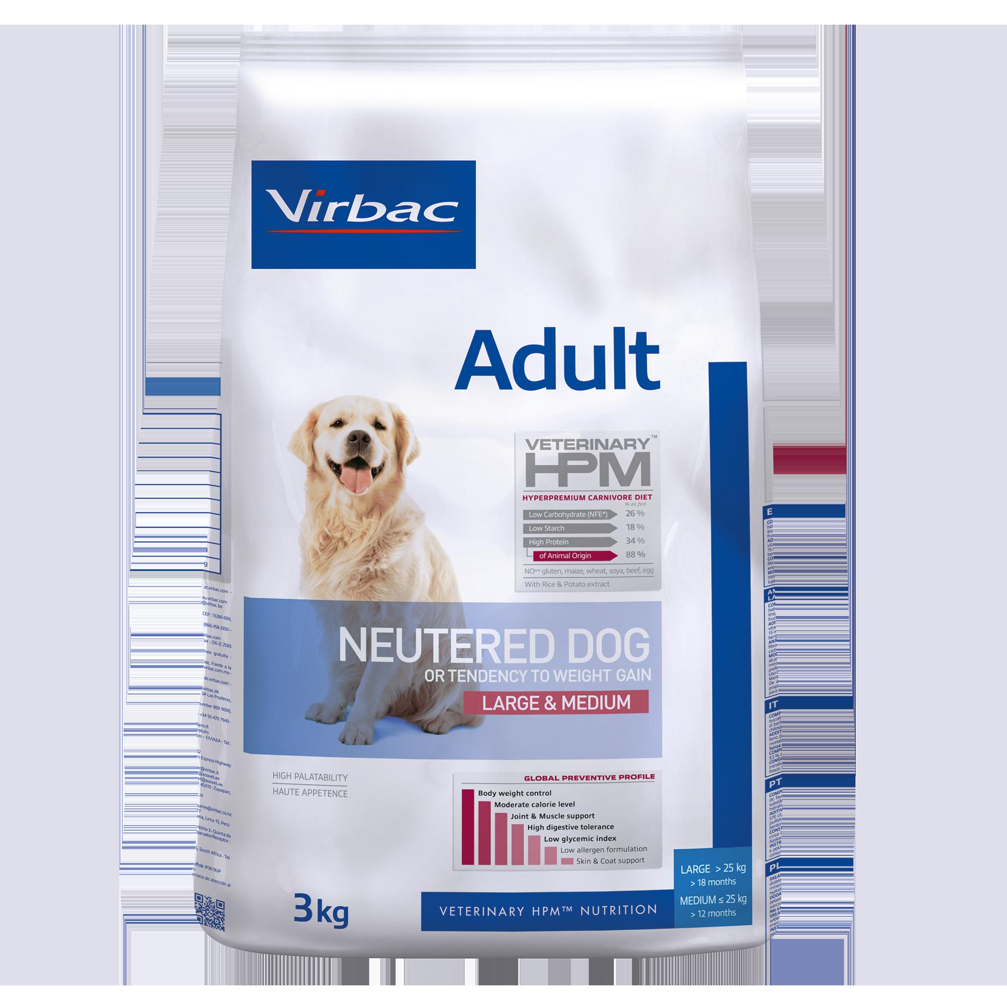 Adult Neutered Dog Large & Medium - 3 kg