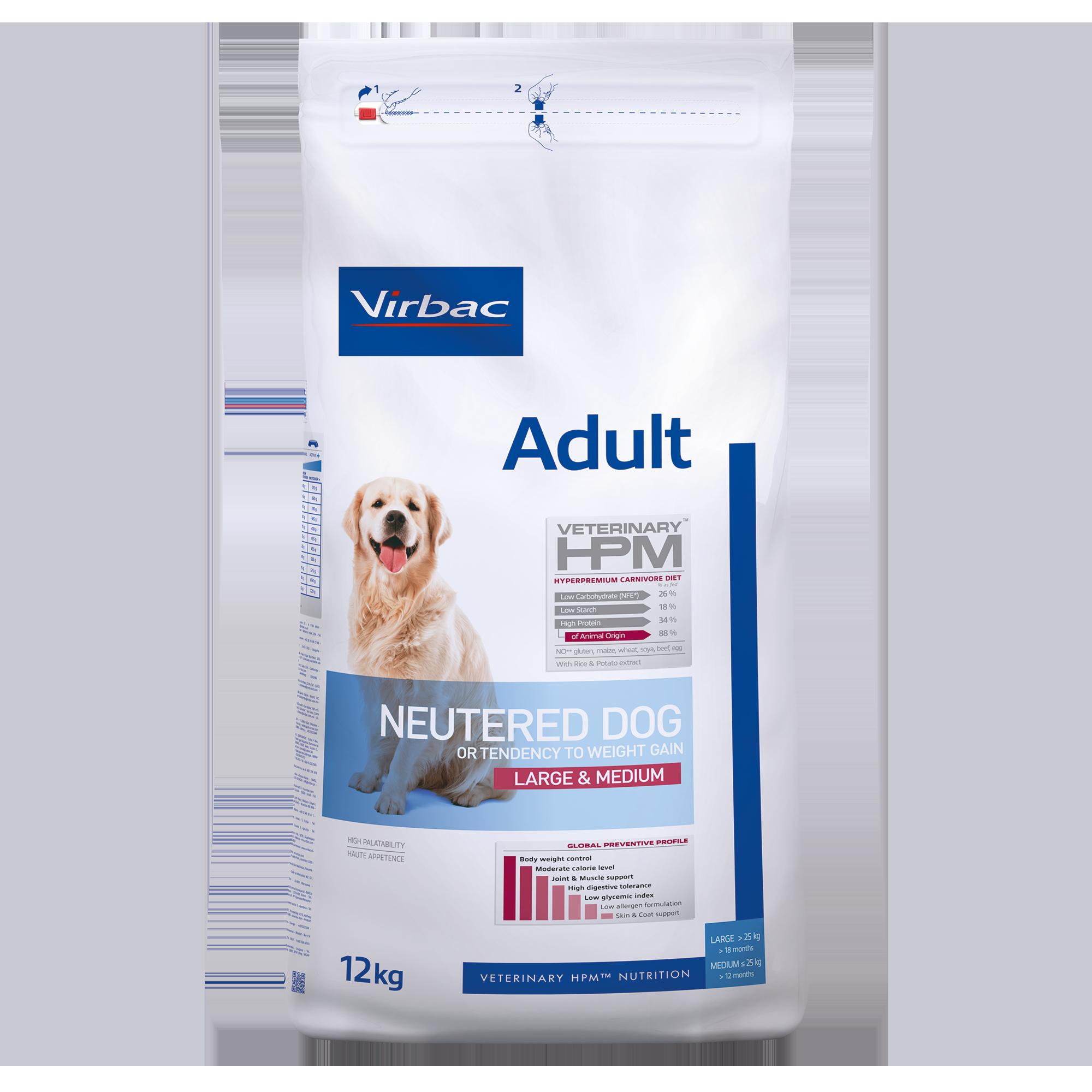 Adult Neutered Dog Large & Medium - 12 kg