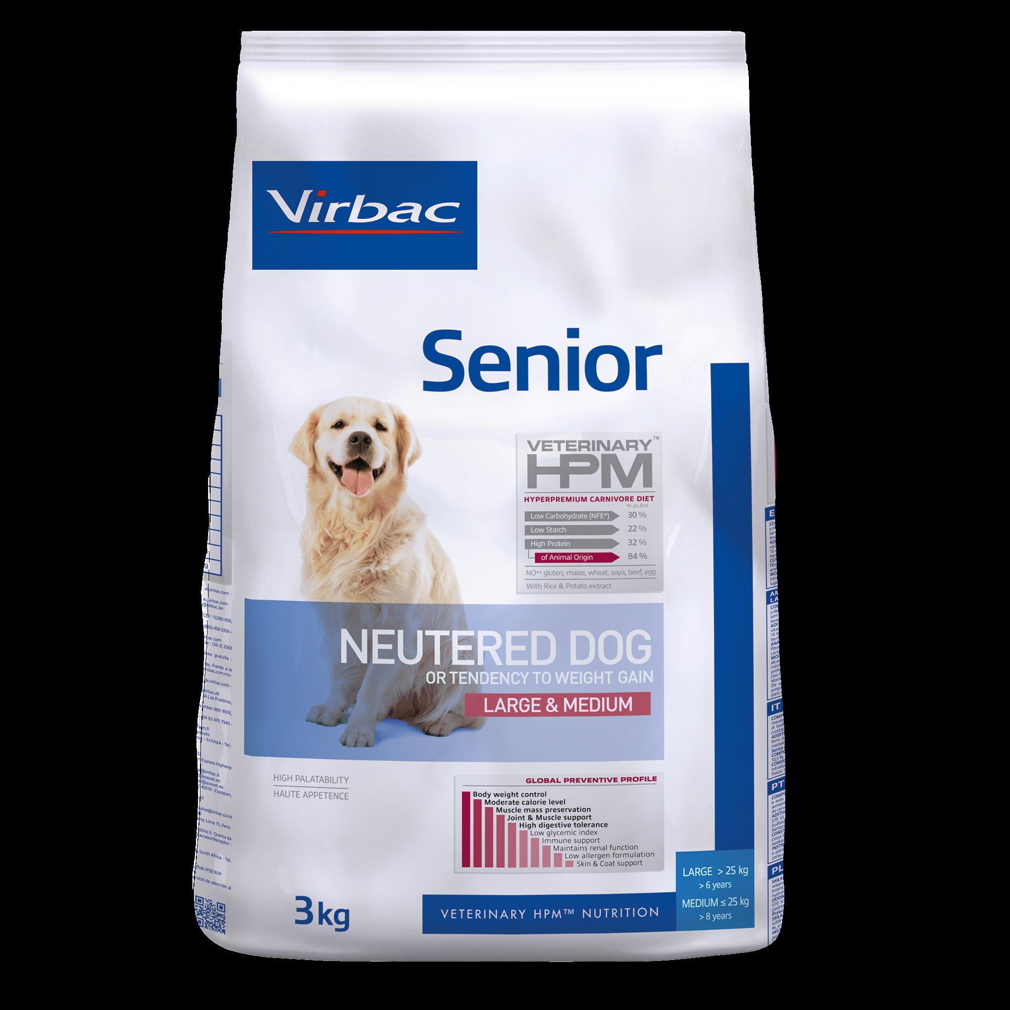 Senior Neutered Dog Large & Medium - 3 kg