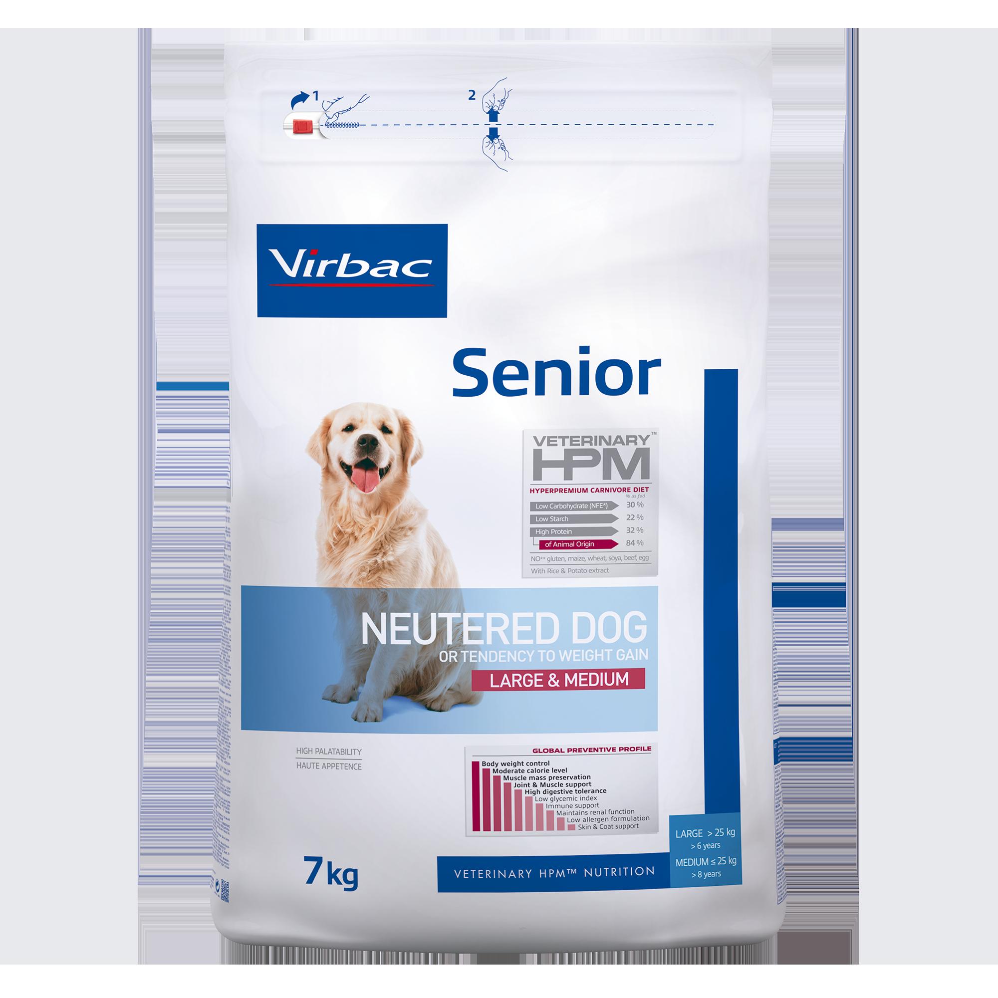 Senior Neutered Dog Large & Medium - 7 kg