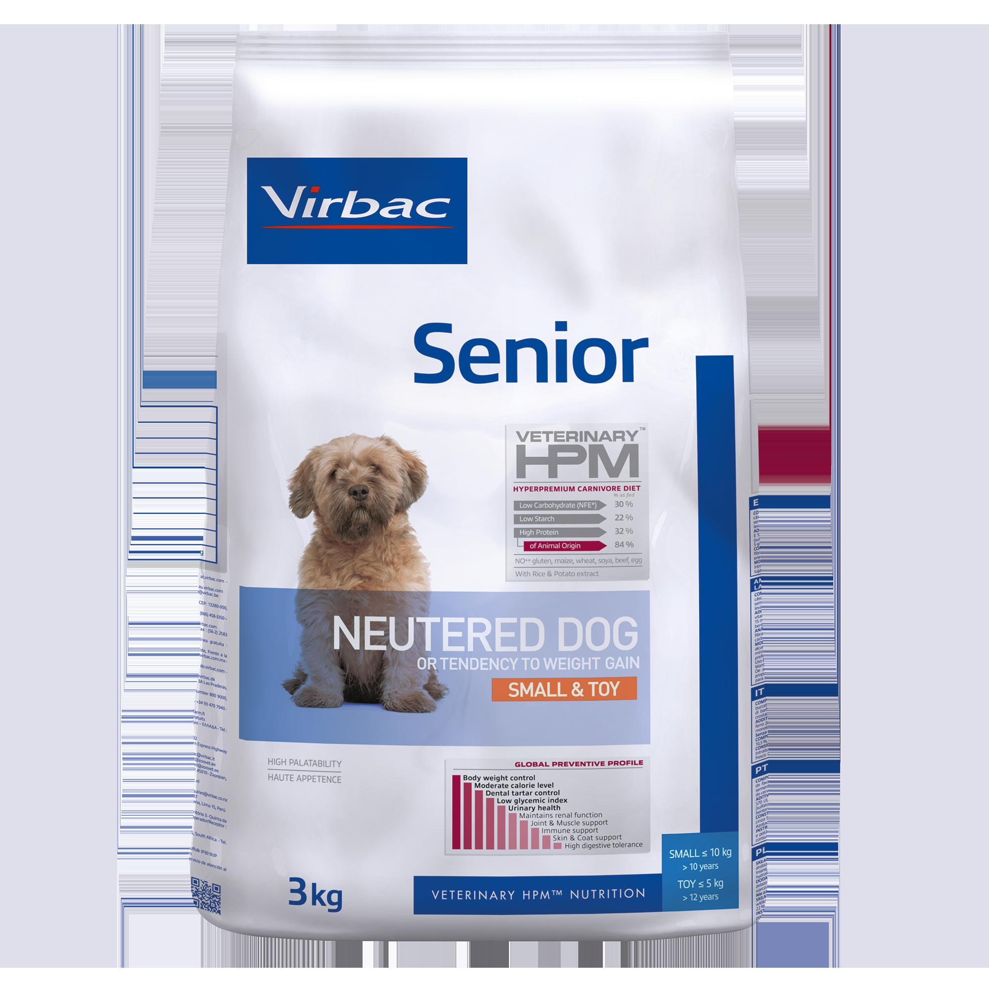Senior Neutered Dog Small & Toy - 3 kg