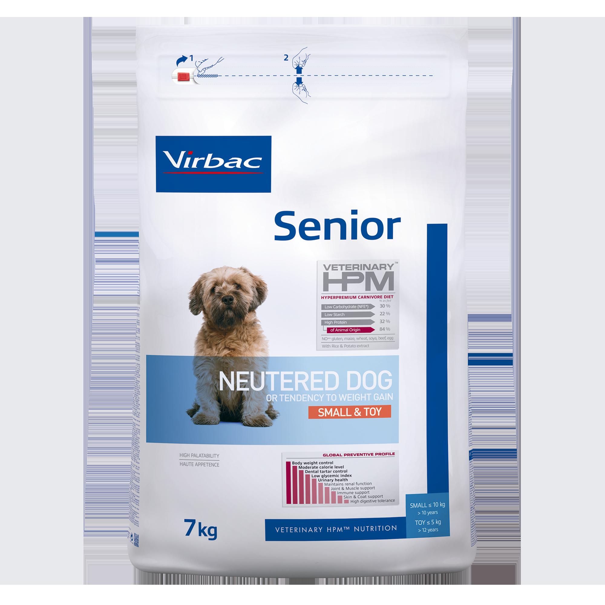 Senior Neutered Dog Small & Toy