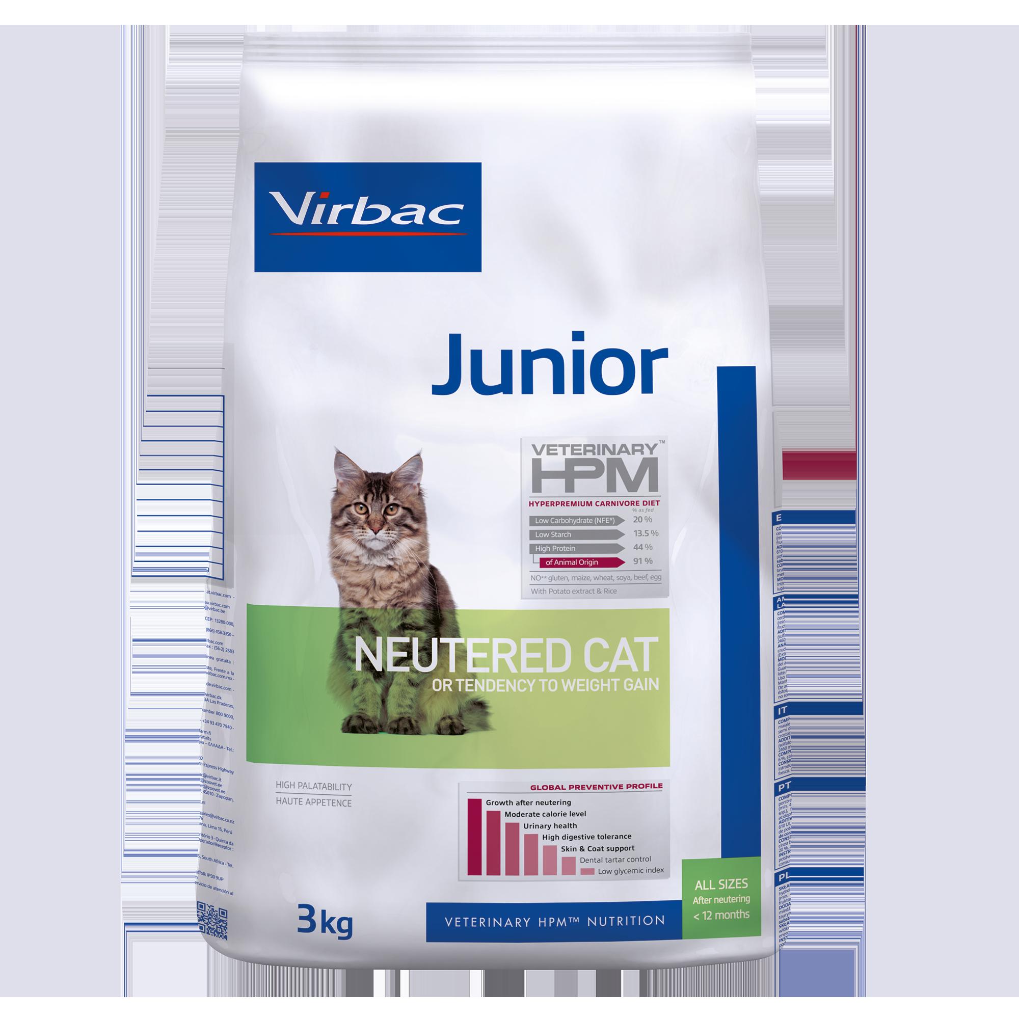 Junior Neutered Cat - 3 kg