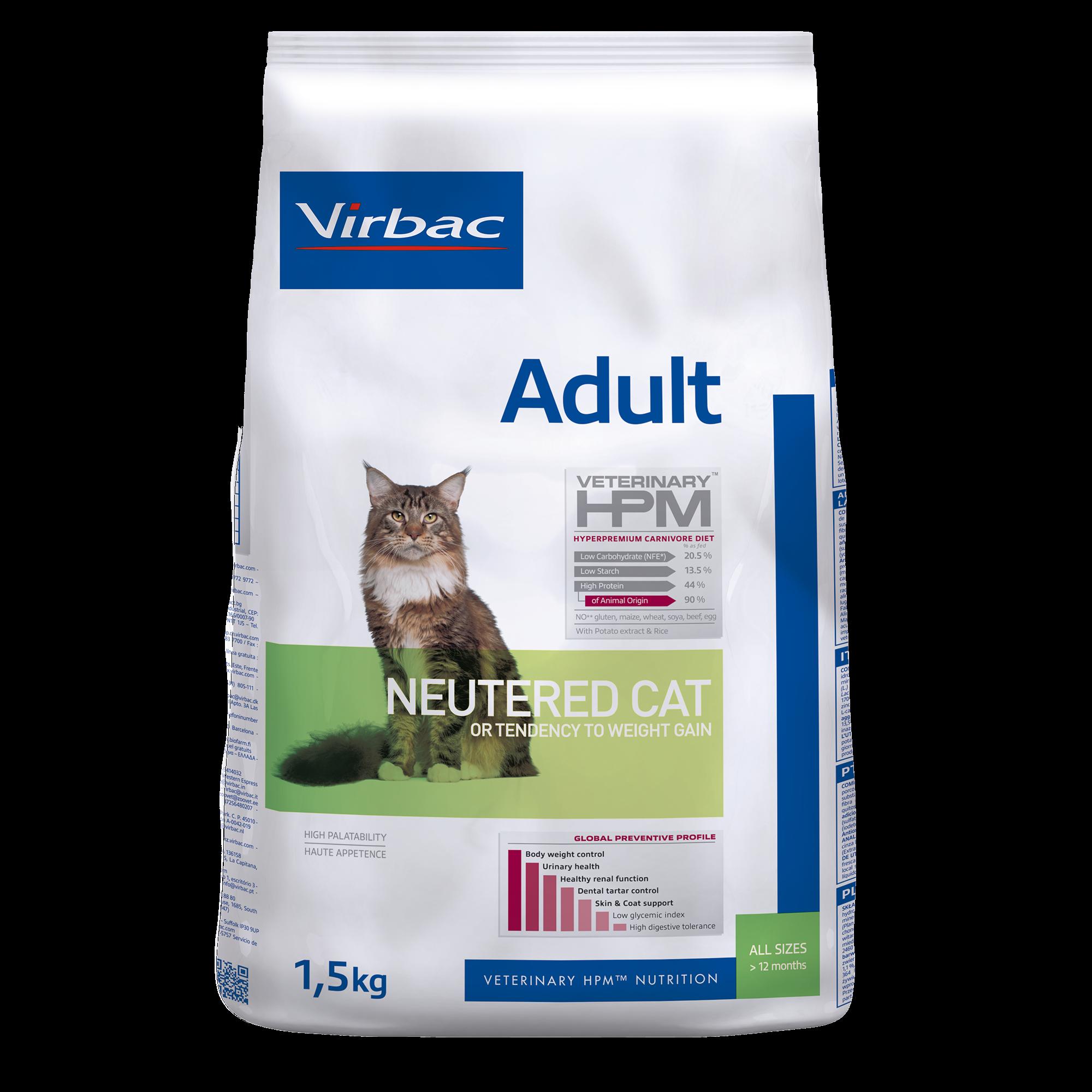 Adult Neutered Cat - 1,5 kg