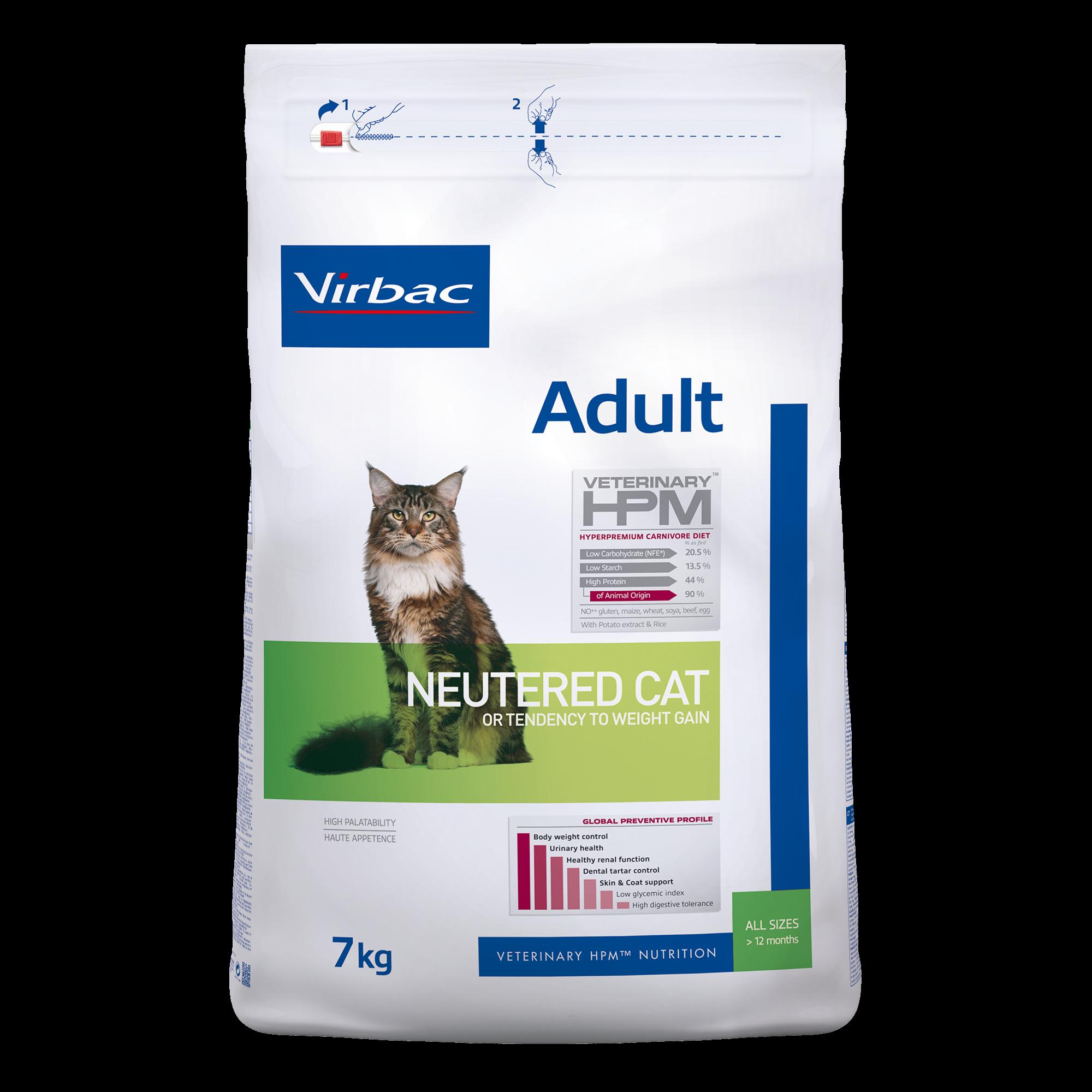 Adult Neutered Cat - 7 kg