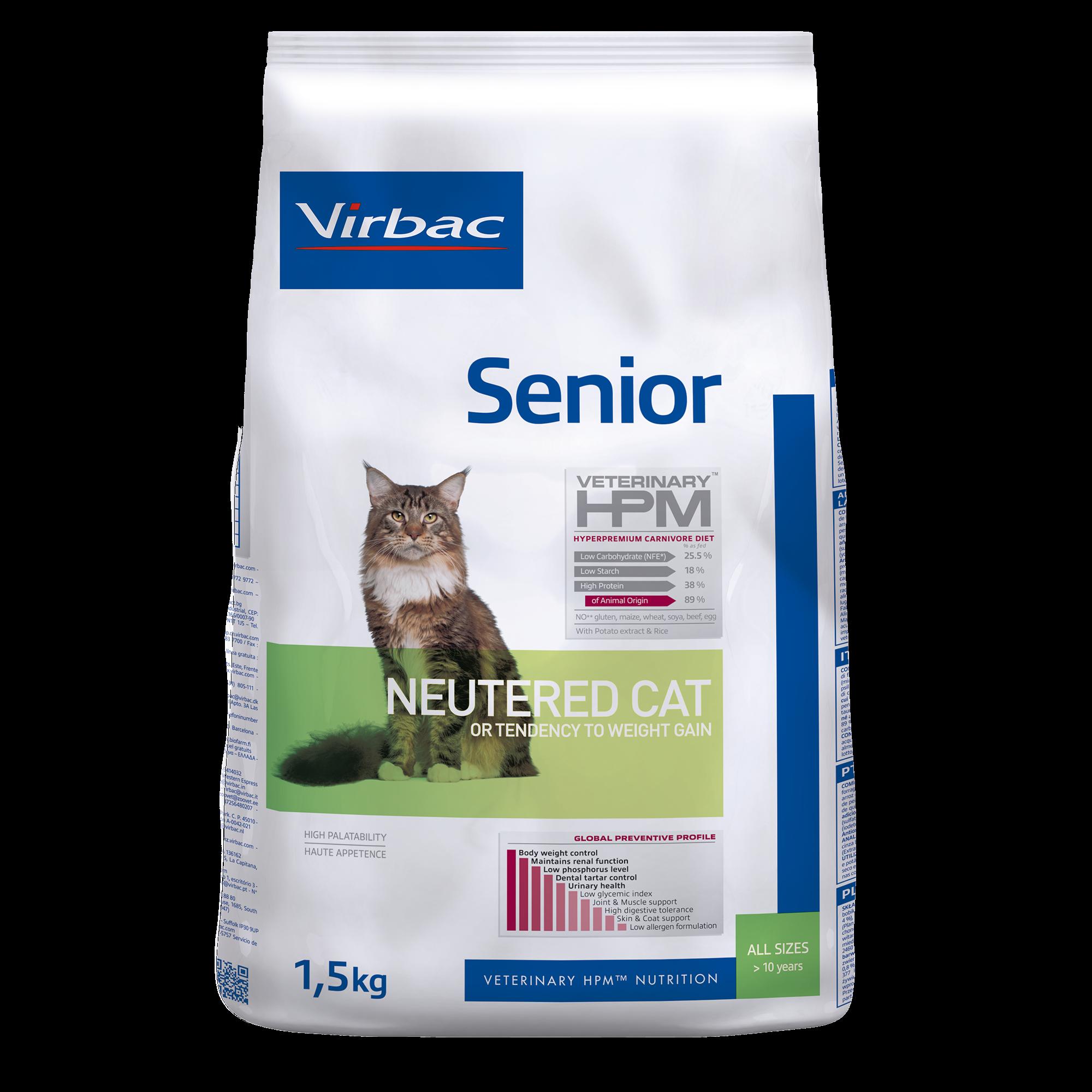 Senior Cat - 1,5 kg