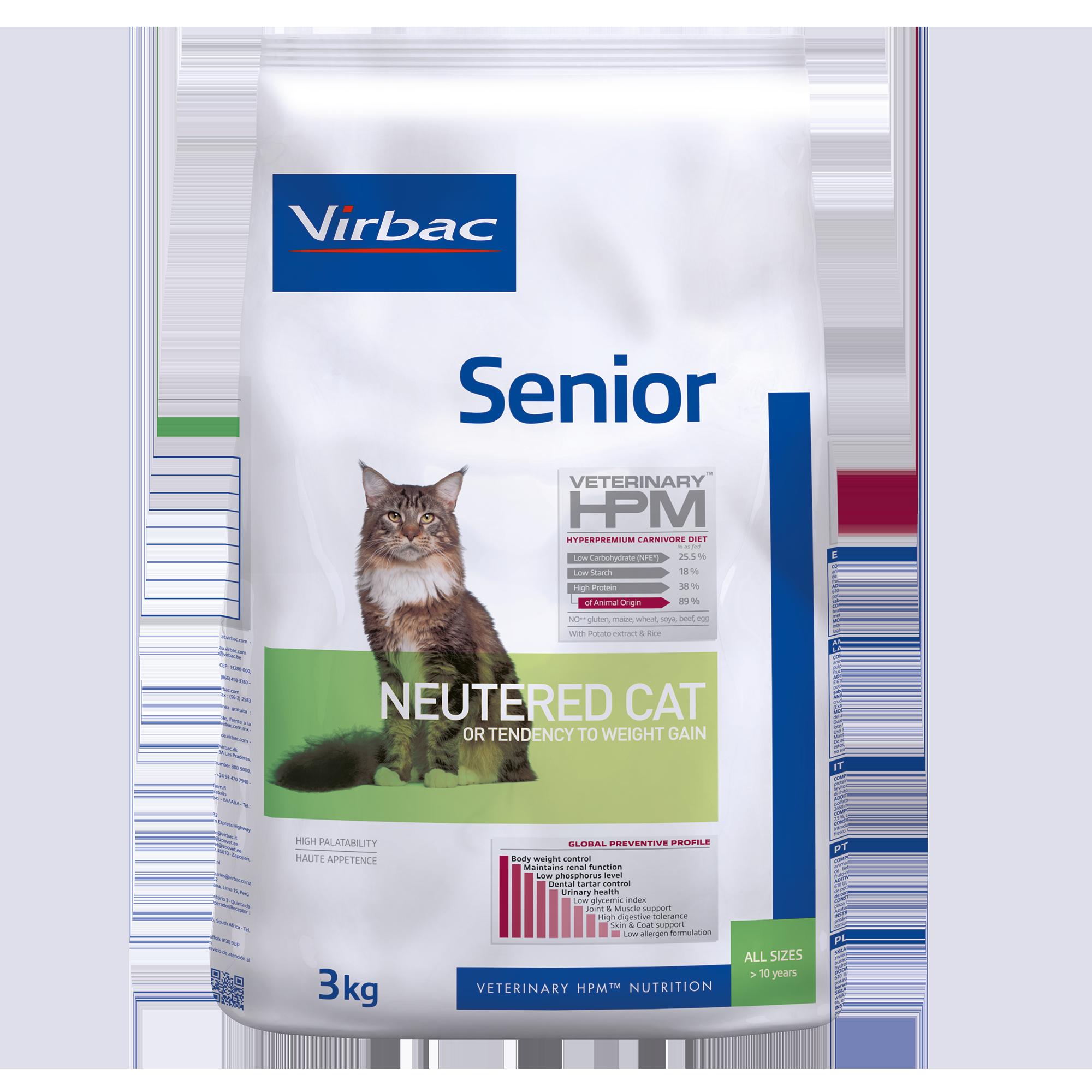 Senior Cat - 3 kg