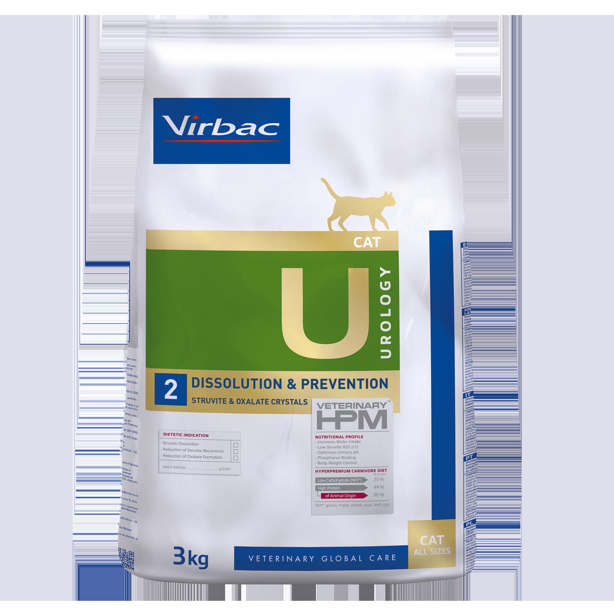 Urology 2 Cat - 3 kg
