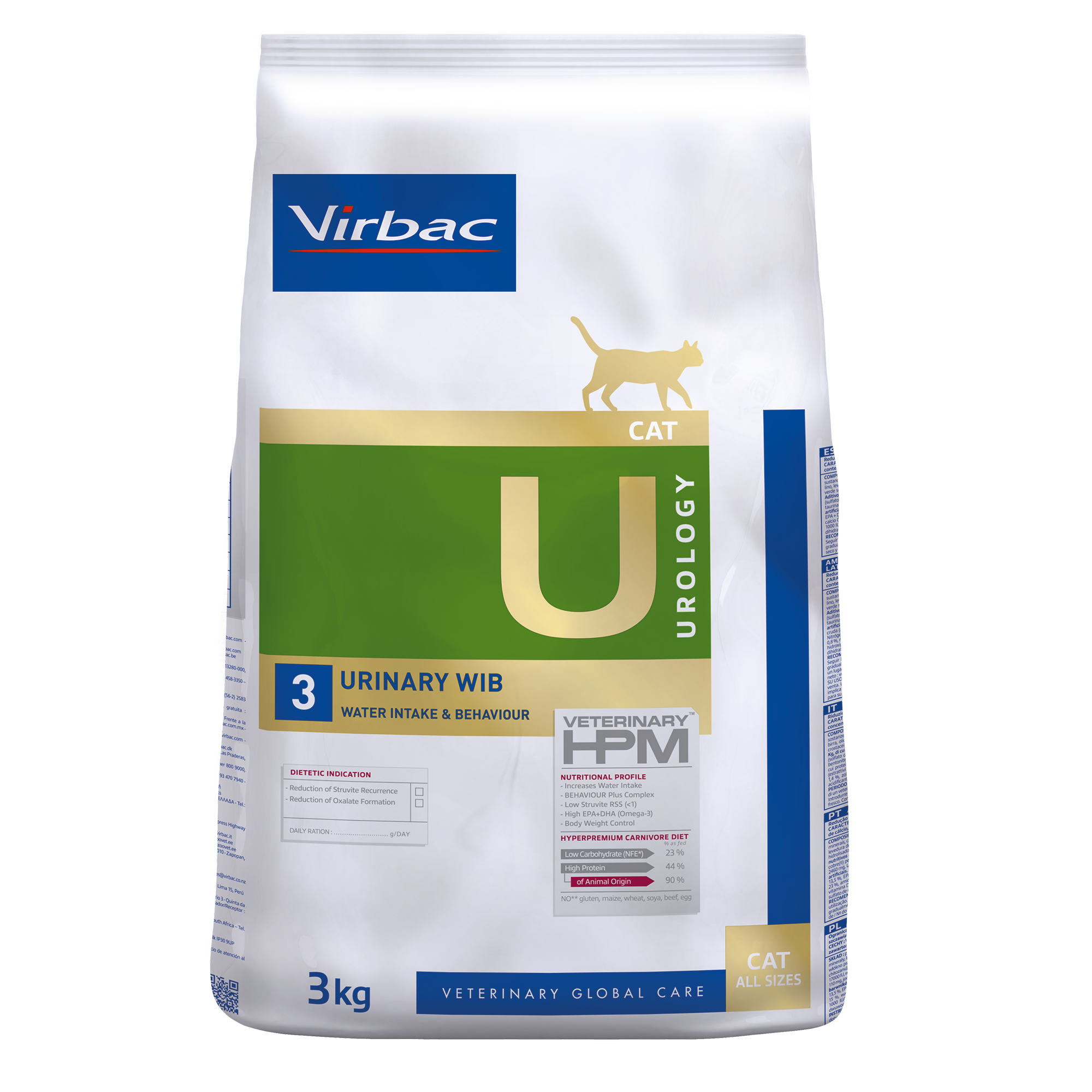 Urology 3 Cat - 3 kg