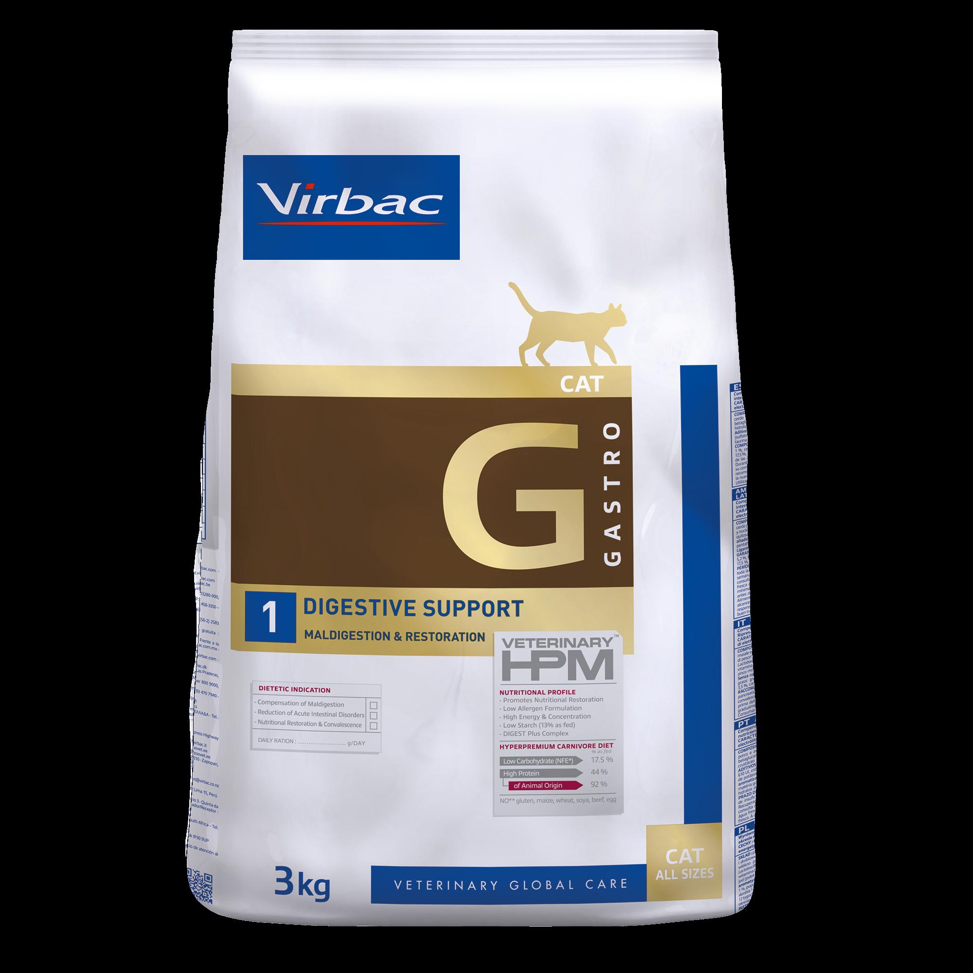 Gastro 1 Cat - 3 kg