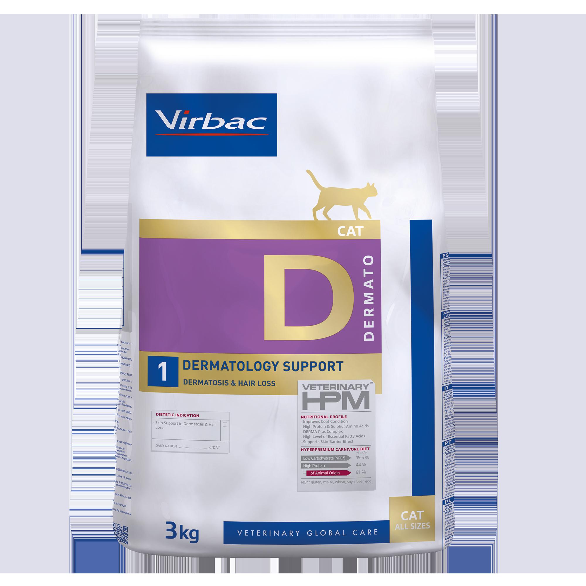 Dermato 1 Cat - 3 kg