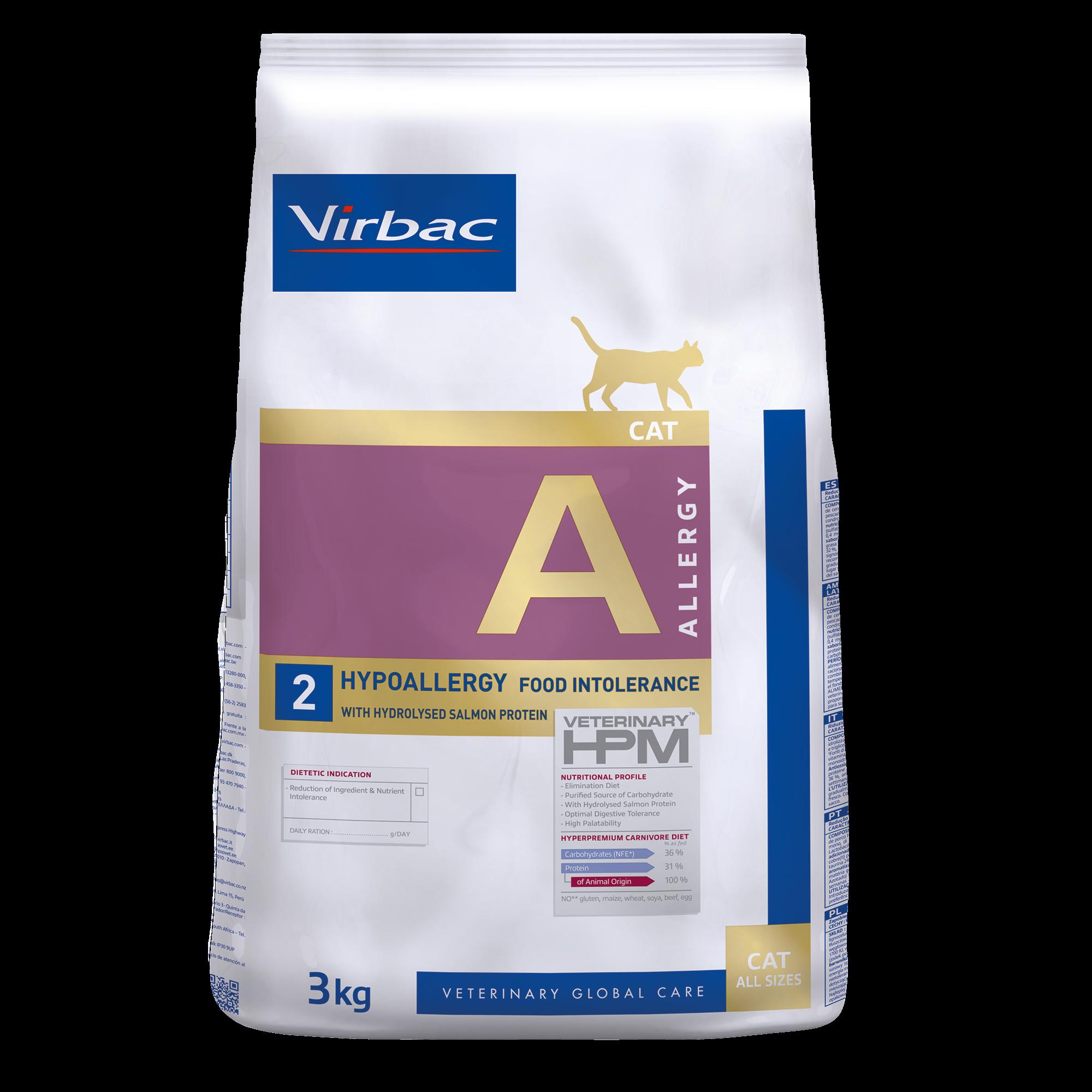 Allergy 2 Cat - 3 kg