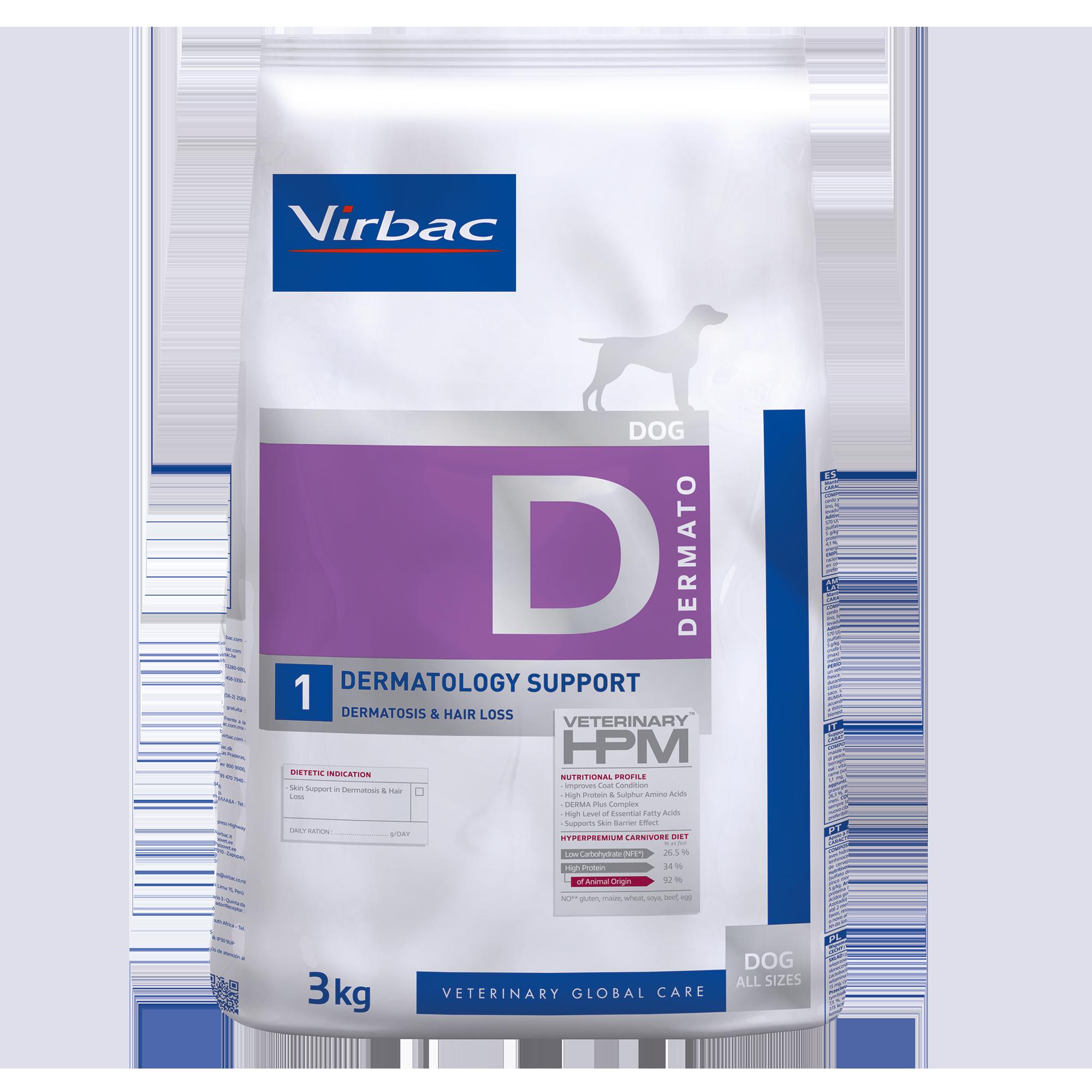 Dermato 1 Dog - 3 kg