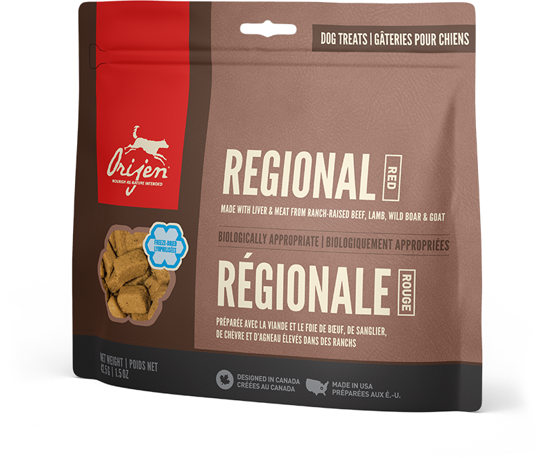 Dog Treats Regional Red
