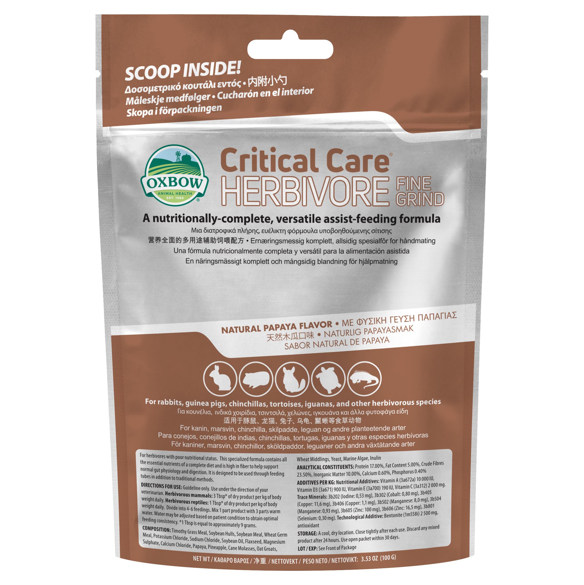 Critical Care Fine Grind - 100g