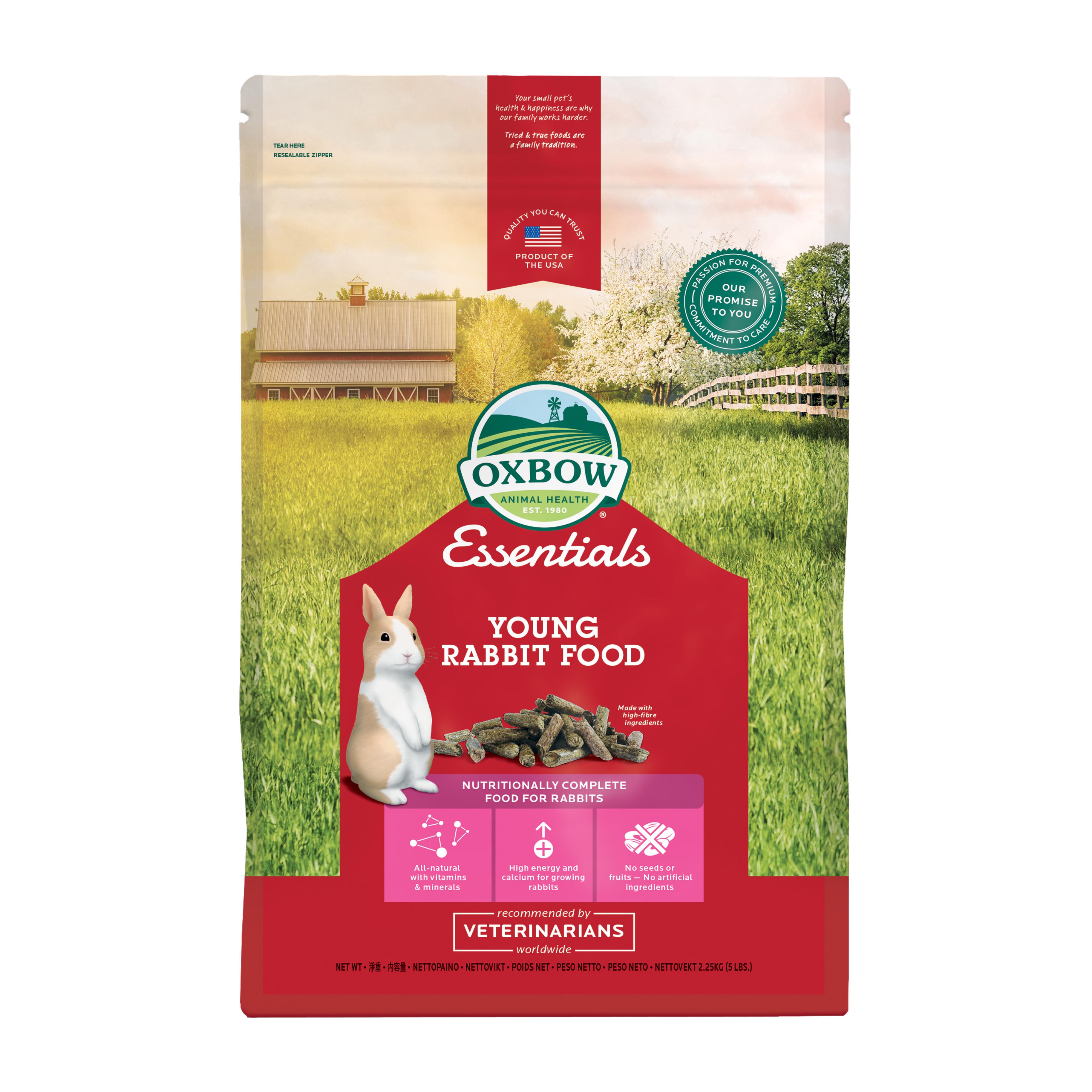 Kaninpellets för unga kaniner - 2,25 kg